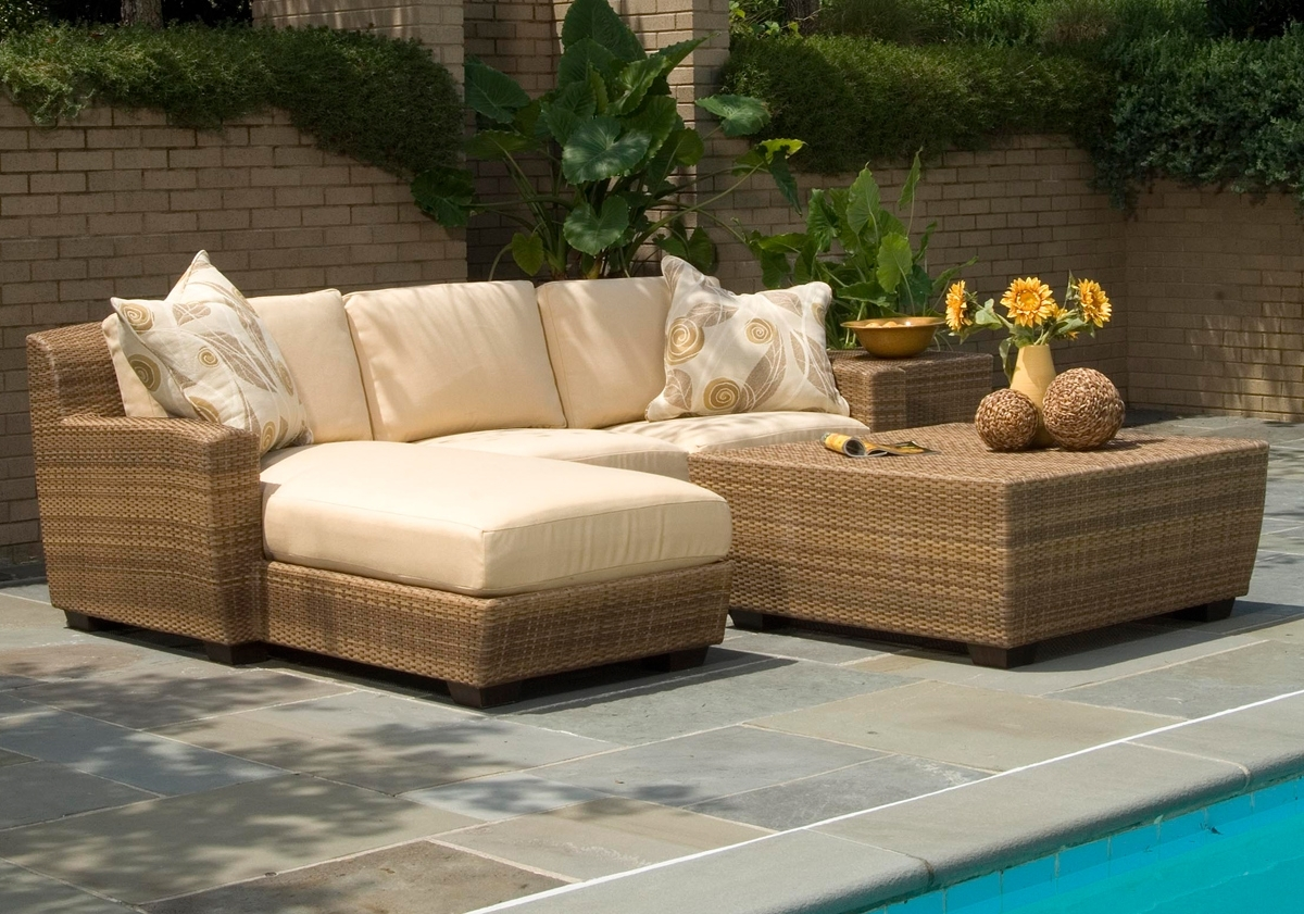 Current Patio Sofas Intended For Outdoor Wicker Furniture (View 14 of 15)