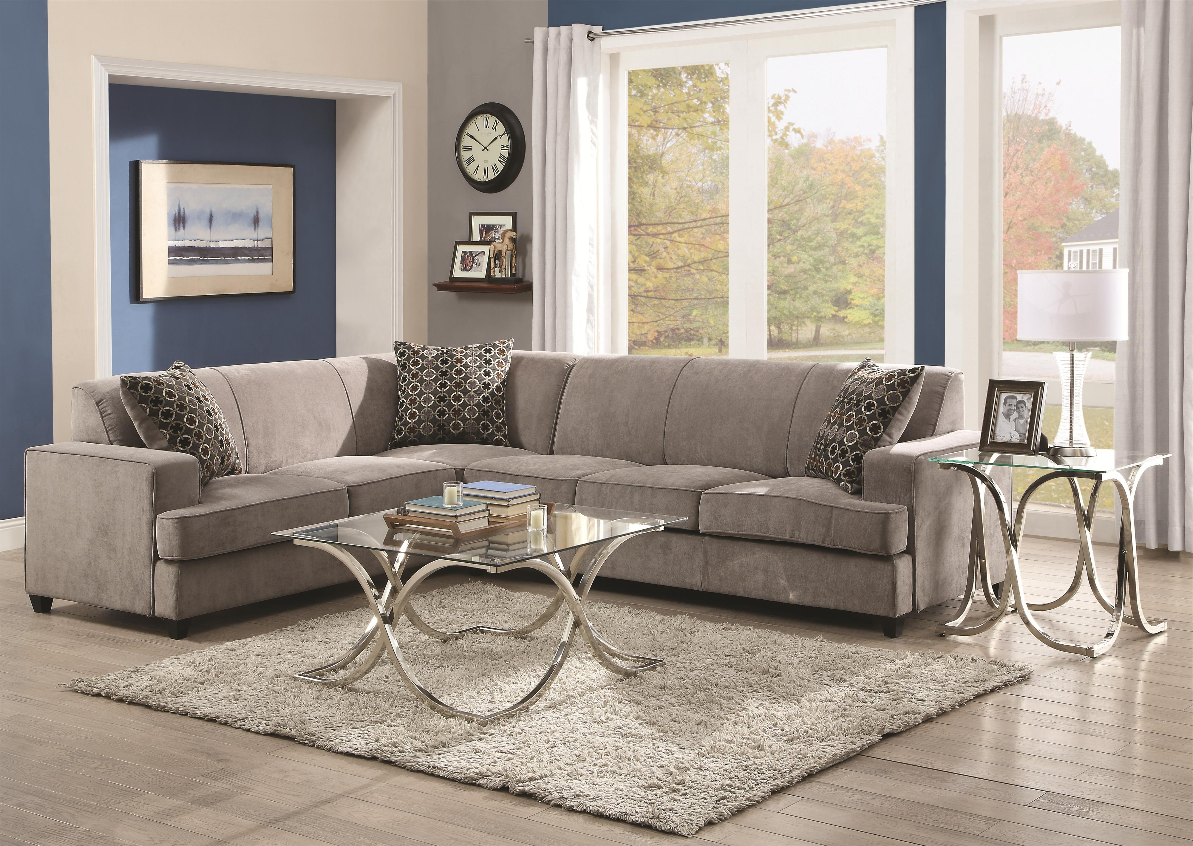 Current Quatrine Sectional Sofas Pertaining To Coastal Sectional Sofa – Home Design Ideas And Pictures (View 1 of 15)