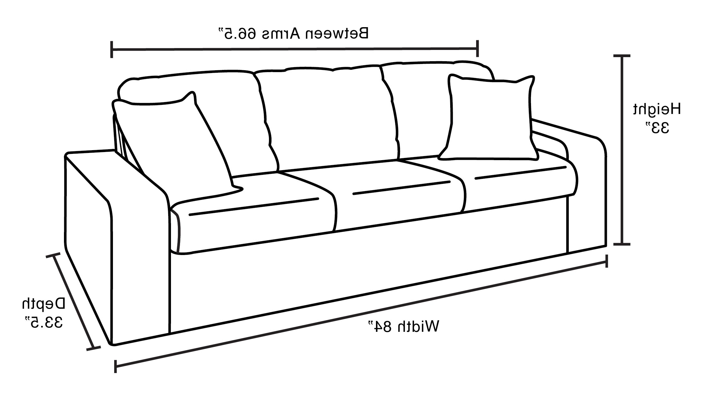 Current Rare Sectional Sofa Dimensions Photo Concept Karlstad Of Standard Inside Sectional Sofas By Size (View 3 of 15)