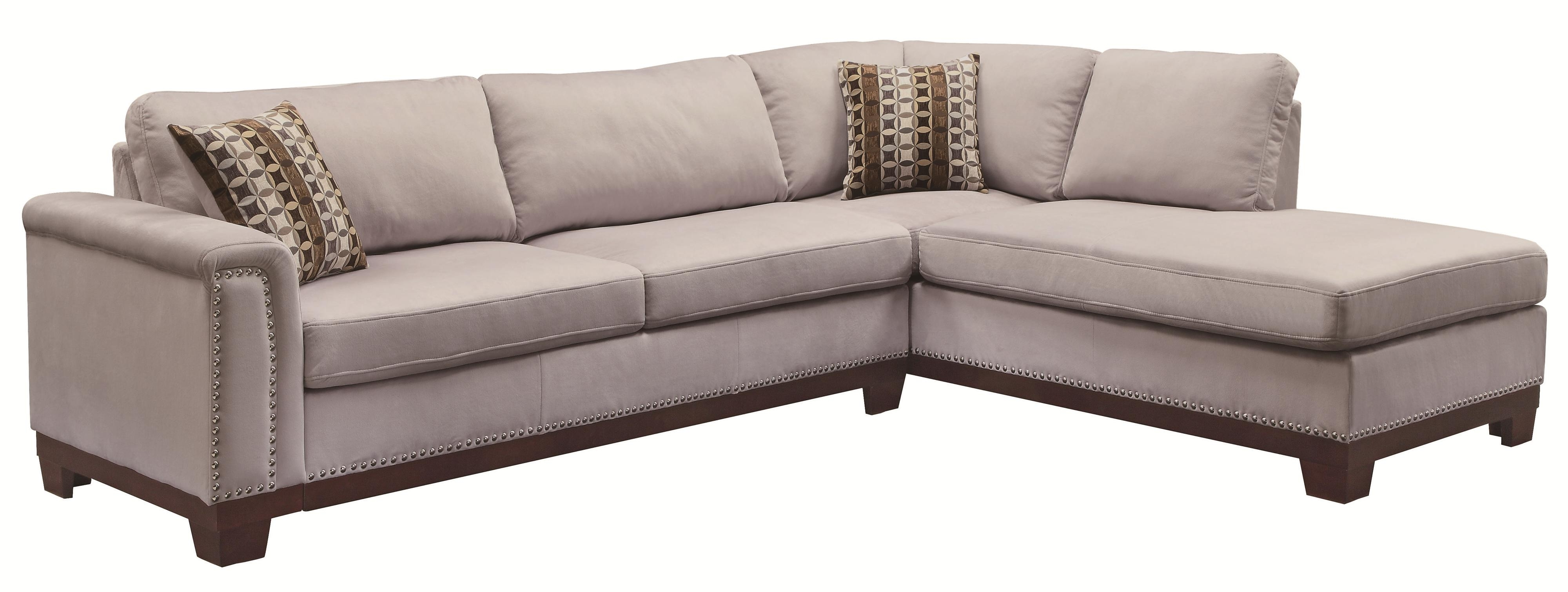 Current Stylish Couch With Chaise Lounge With Stylish Small Living Room Throughout Small Sofa Chaises (View 4 of 15)
