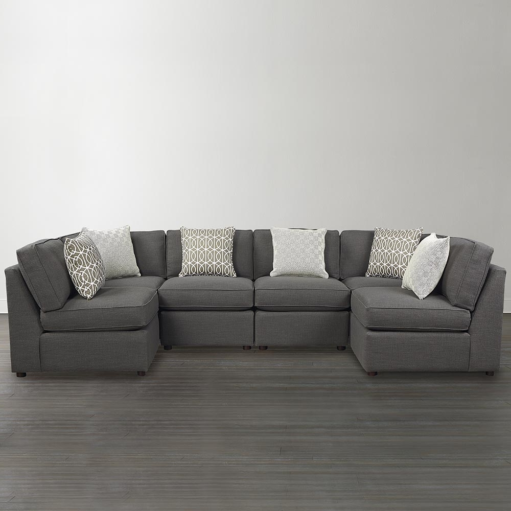 Current U Shaped Sectional Sofa Narrow : Into The Glass – How To Use U Regarding Scarborough Sectional Sofas (View 6 of 15)