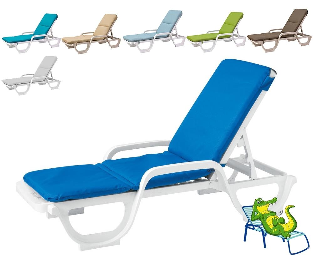 Cushion For Grosfillex Chaise Lounge Chair – Cushion Only In 2017 Chaise Lounge Chair Cushions (View 13 of 15)