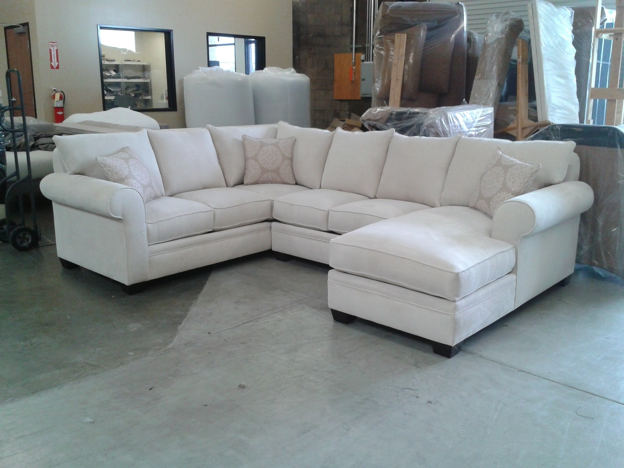 Custom Sectional Sofa (View 2 of 15)