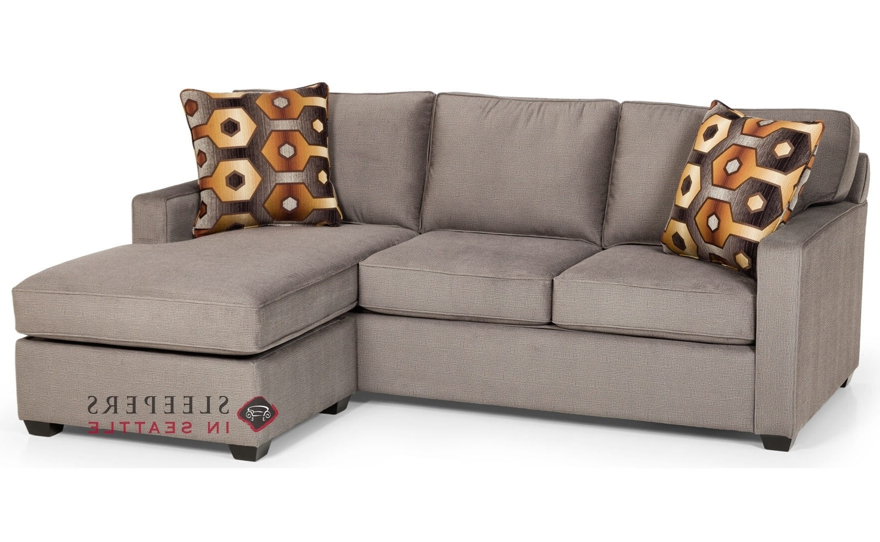 Customize And Personalize 403 Chaise Sectional Fabric Sofa Intended For Well Known Chaise Sleeper Sofas (View 4 of 15)