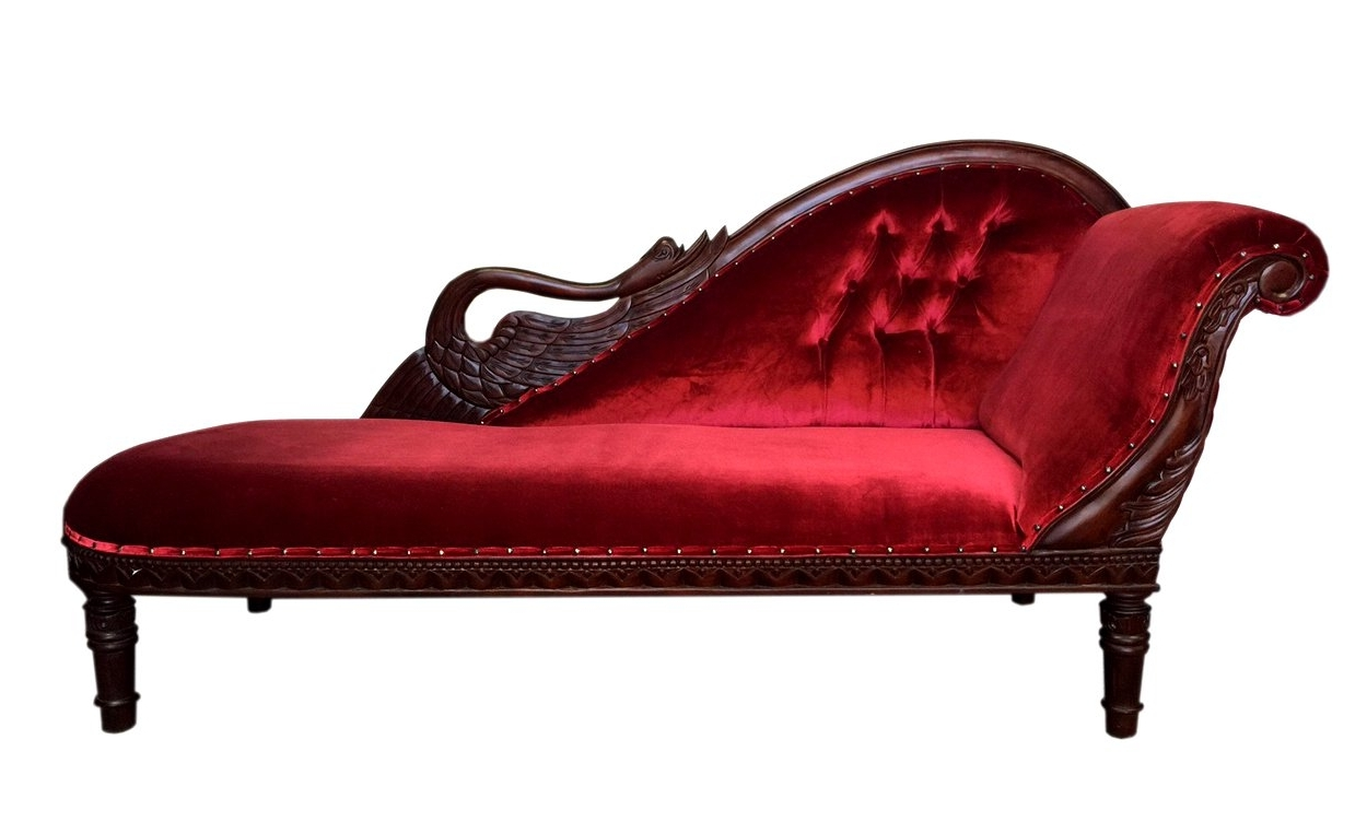 D Art Collection Swan Chaise Lounge & Reviews (View 7 of 15)