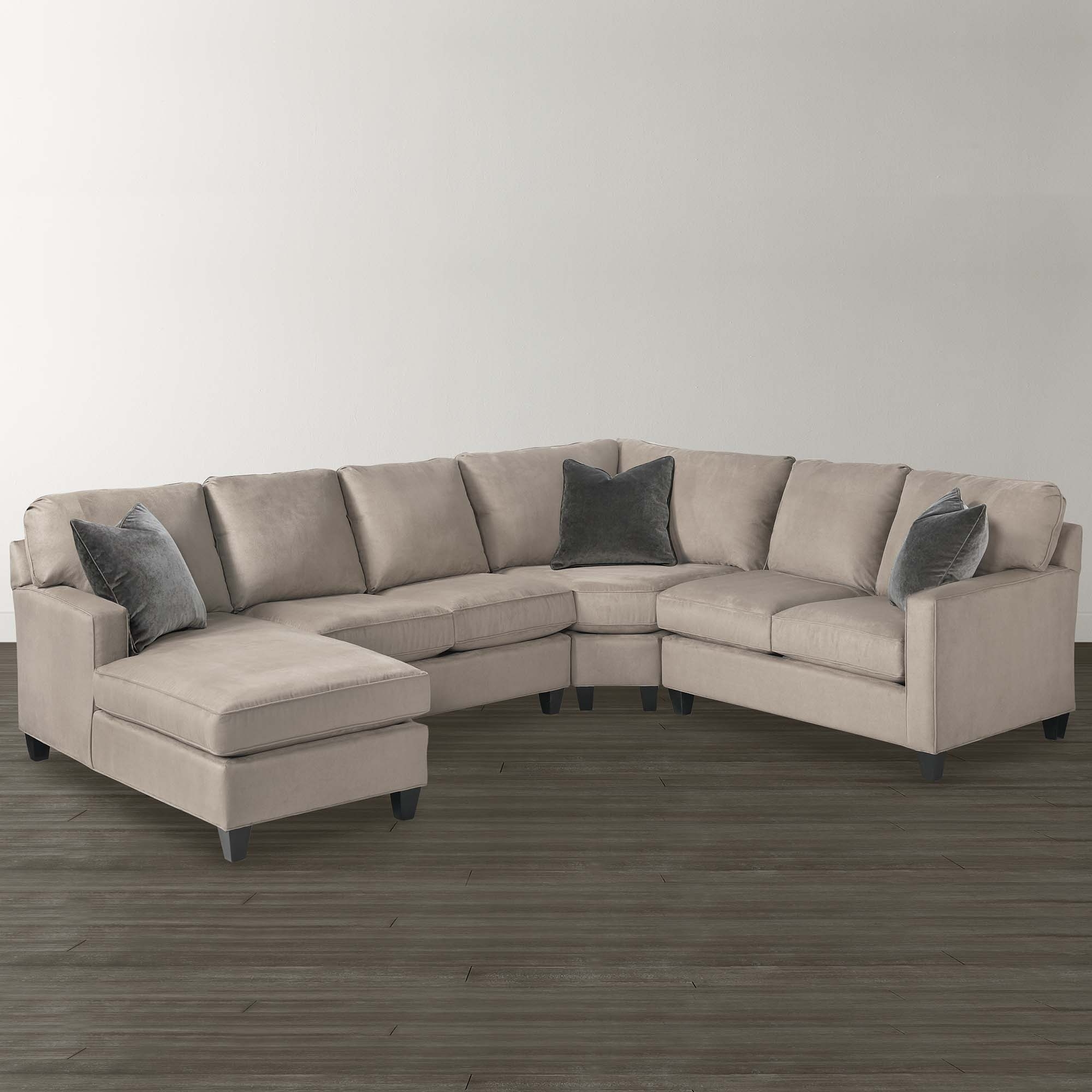 Dania Sectional Sofas Pertaining To Newest Sofa : Sofa Leather Sectional U Shape Creambassett Shaped (View 10 of 15)