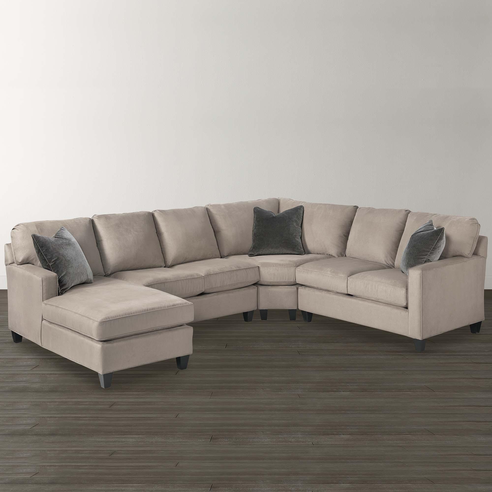 Dania Sectional Sofas Pertaining To Newest Sofa : Sofa Leather Sectional U Shape Creambassett Shaped (View 5 of 15)