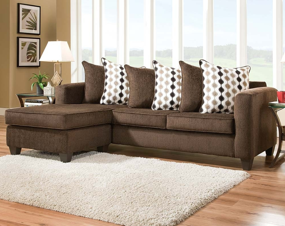 Dark Brown Sectional Sofa (View 2 of 15)