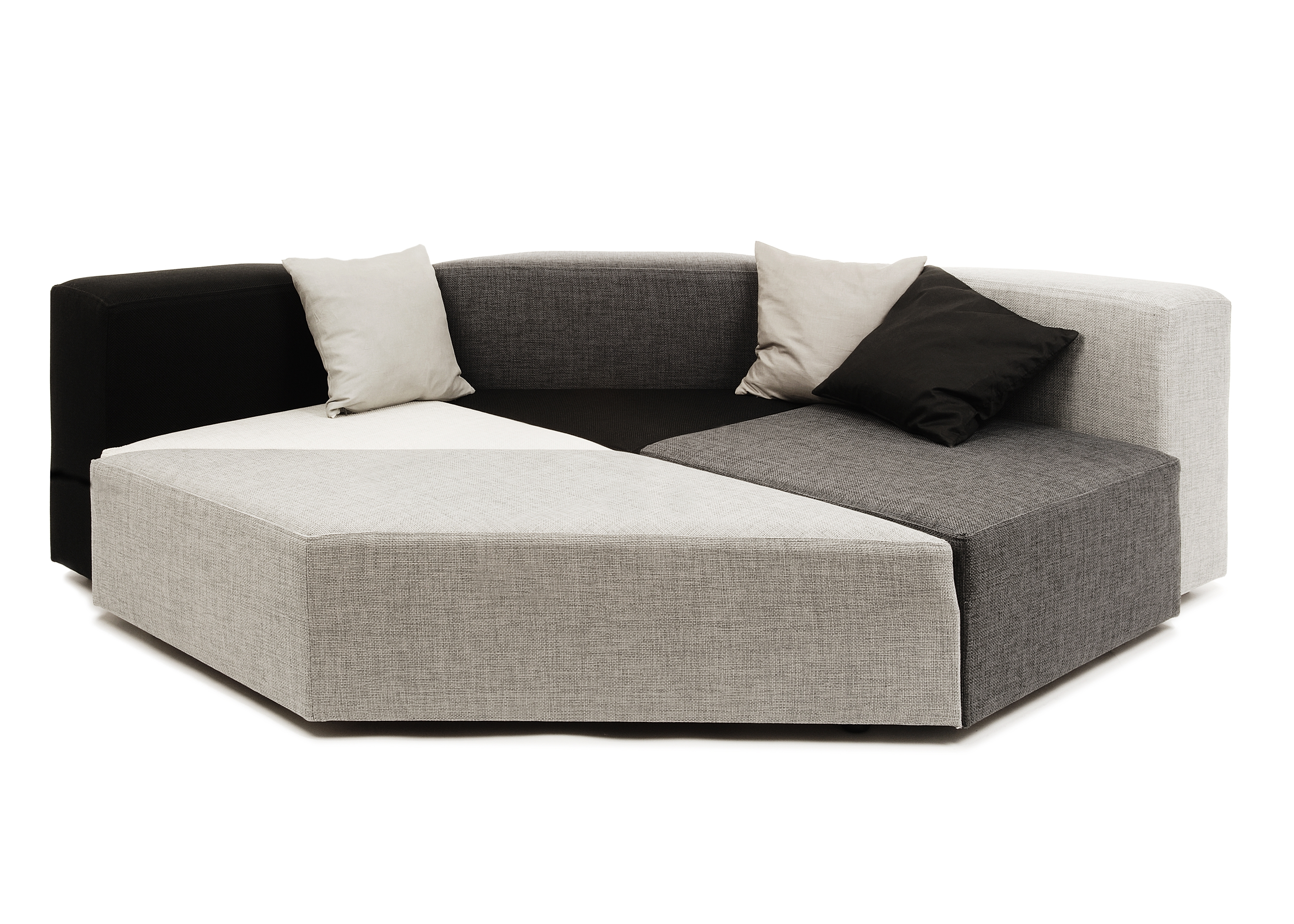Dark Brown Velvet Sectional Couch With Storage Sofa For Small inside Current Small Modular Sofas