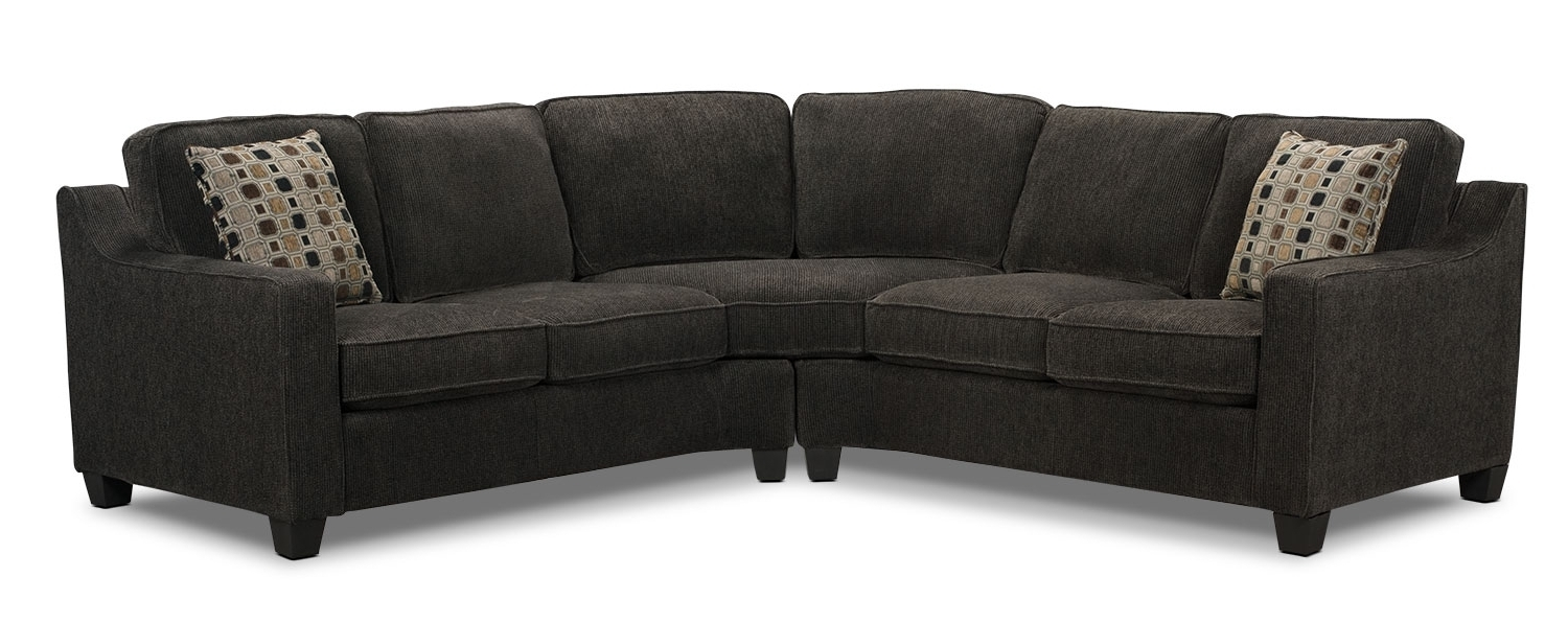 Dark For Kitchener Sectional Sofas (View 2 of 15)