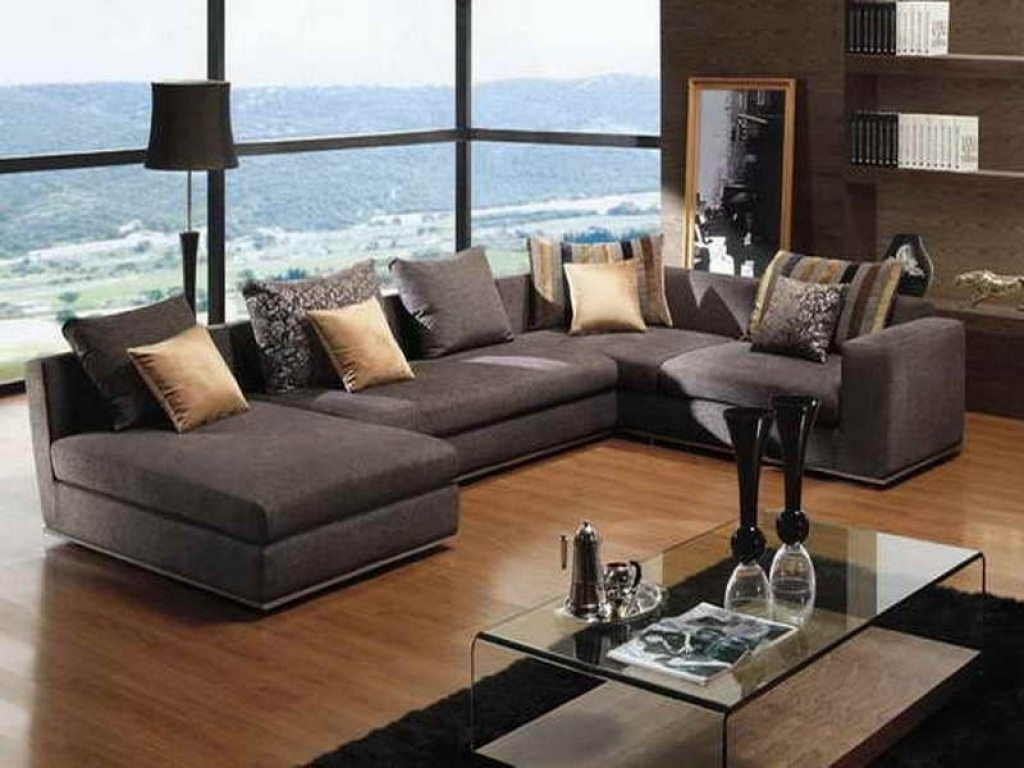 Deep Seated Sectional Sofa To Informal Living Regarding Well Known Deep Seating Sectional Sofas (View 2 of 15)