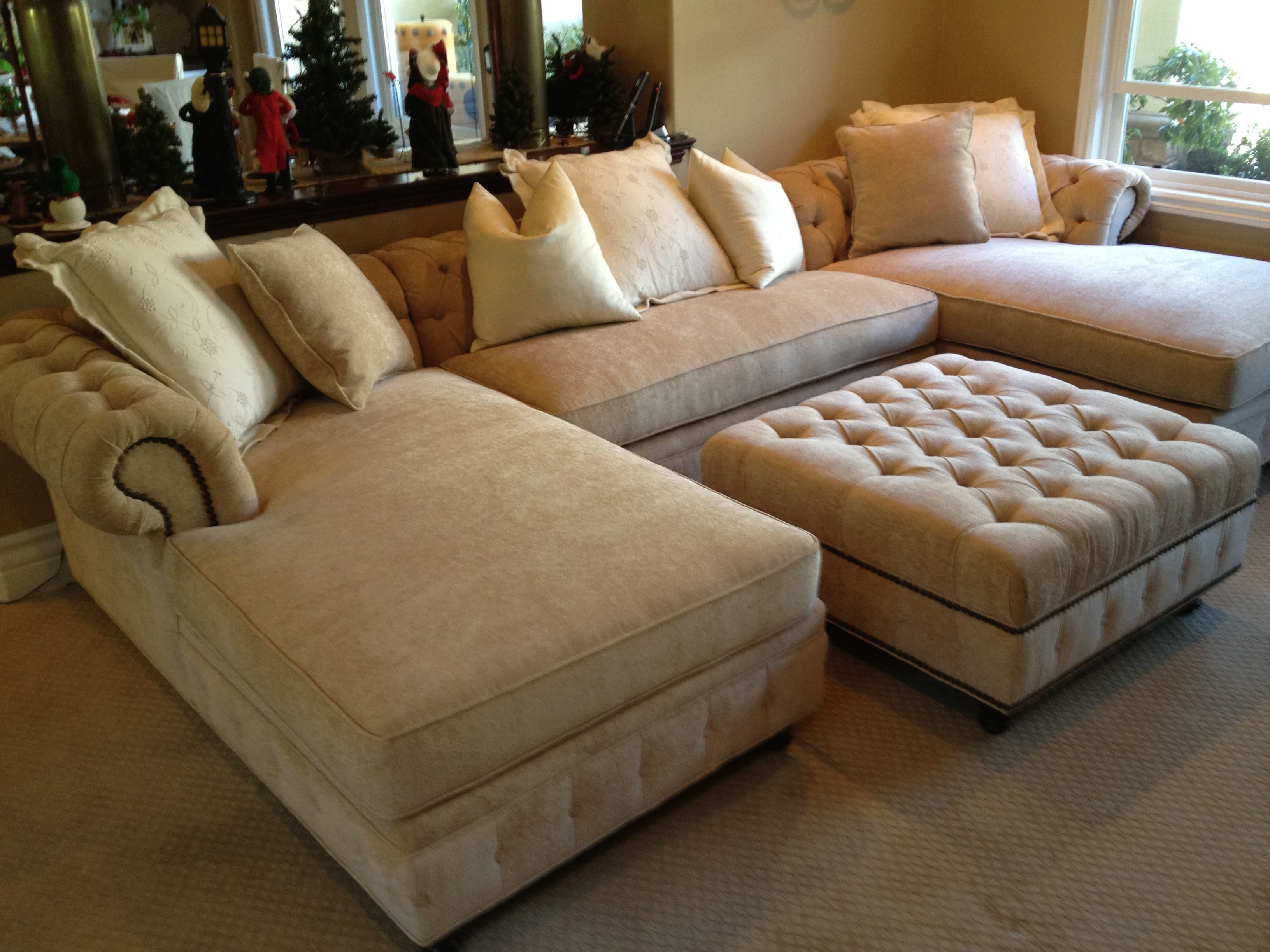 Deep Sectional Sofas With Chaise With Recent Sofa Design Ideas: Deep Sectional Sofa With Chaise Deep Sectional (View 4 of 15)