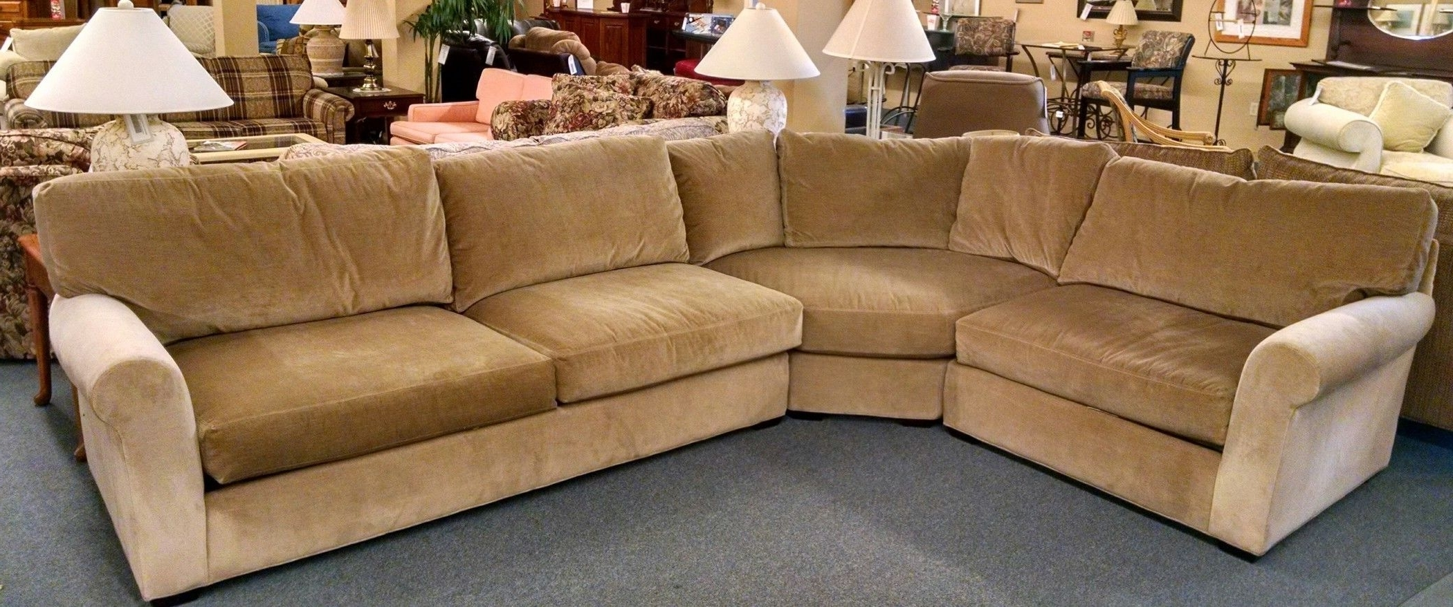 Delmarva Furniture Consignment Within Current Lee Industries Sectional Sofas (View 5 of 15)
