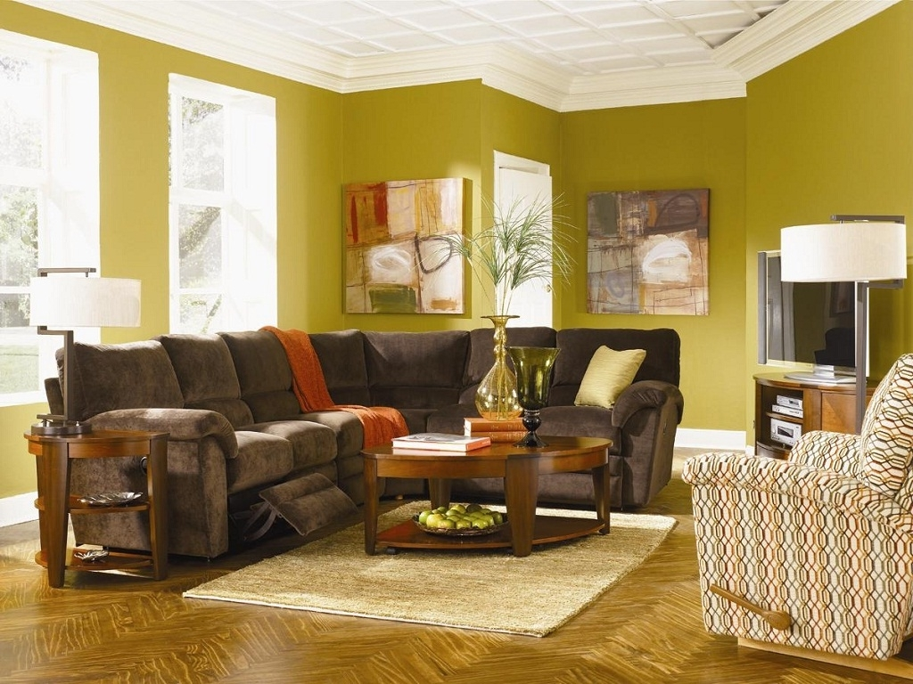 Design Ideas With Sectional Sofas Divide A Sectional Sofa Intended For 2018 Sectional Sofas Decorating (View 3 of 15)