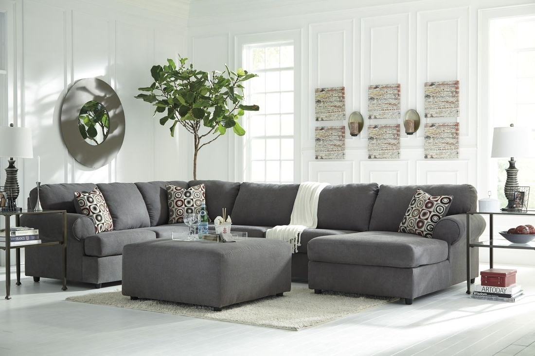 Detail Of The Ashley Homestore Owensbe Sectional (View 9 of 15)