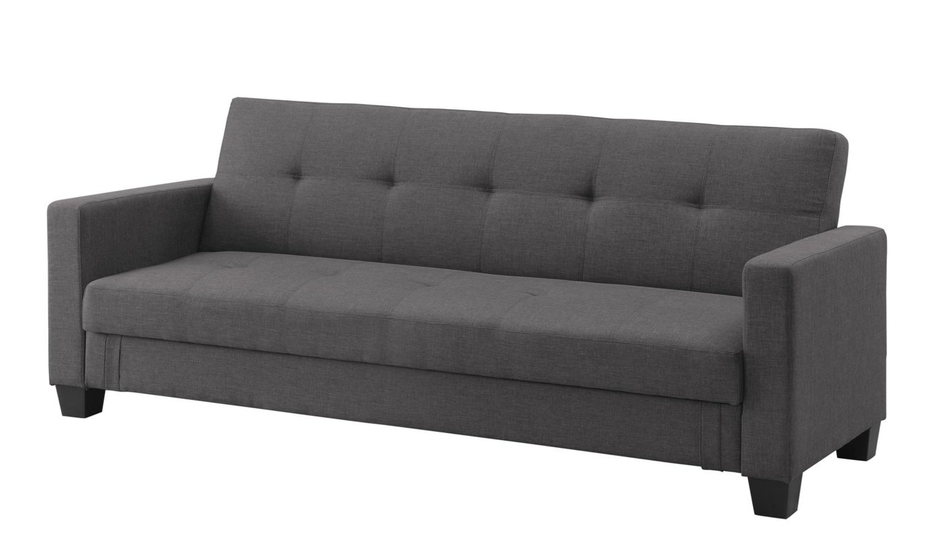 Dhp Leighton Convertible Sofa & Reviews (View 6 of 15)