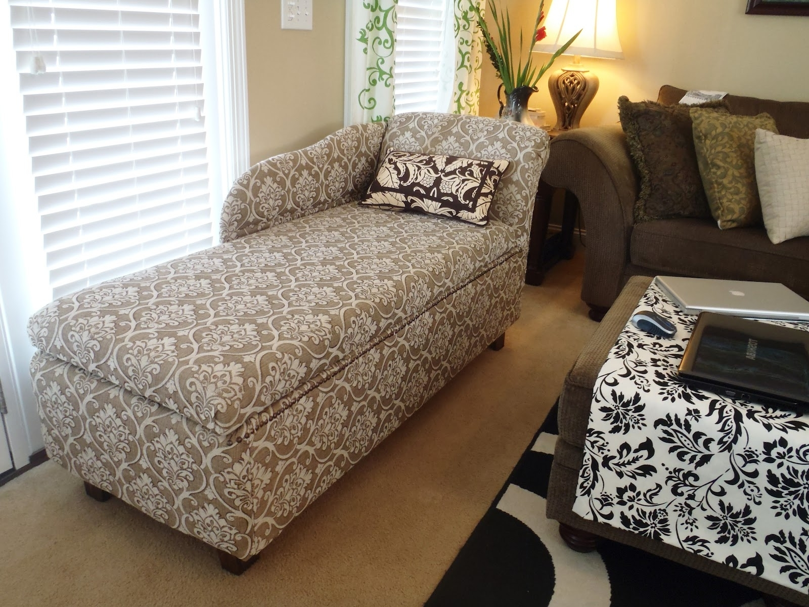 Diy Chaise Lounge Chairs In Best And Newest Lazy Liz On Less: Storage Chaise Lounge (View 4 of 15)