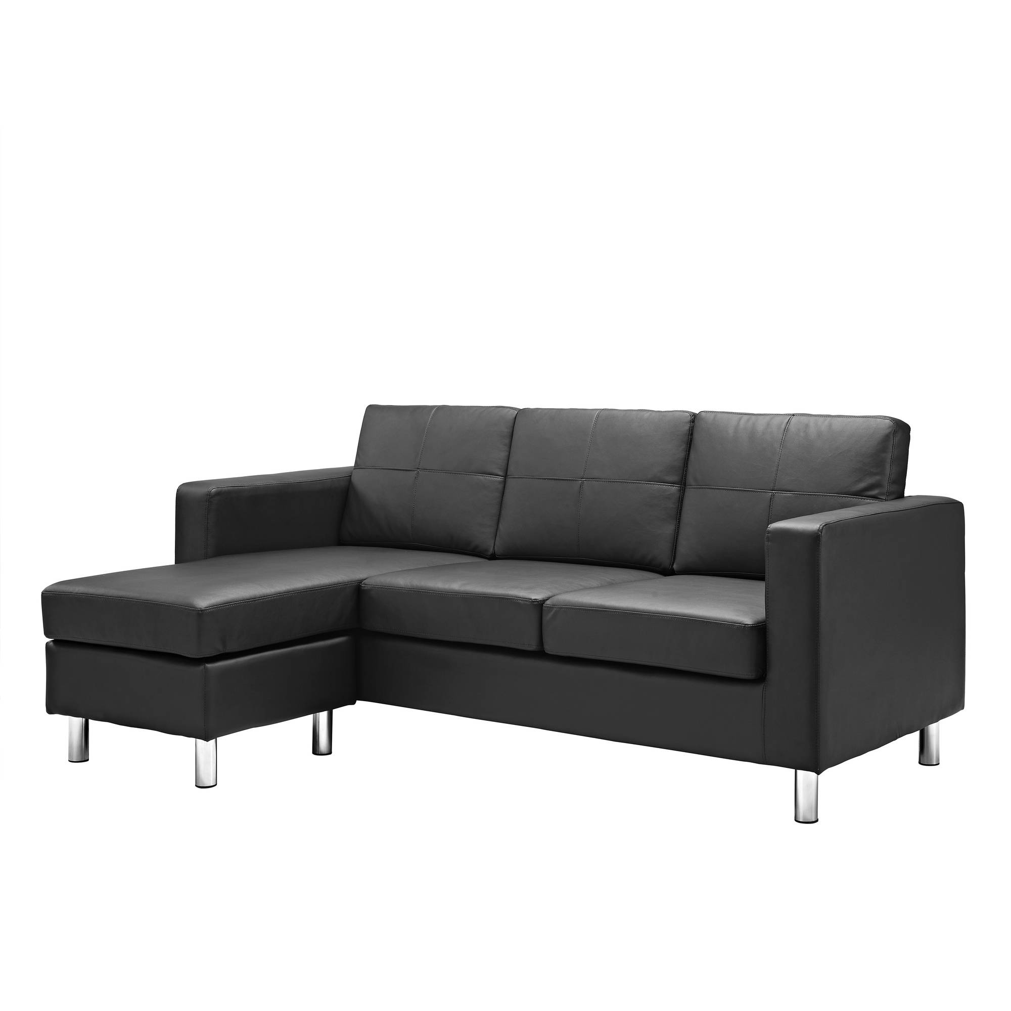 Dorel Living Small Spaces Configurable Sectional Sofa, Multiple For 2018 Sectional Sofas At Walmart (View 9 of 15)