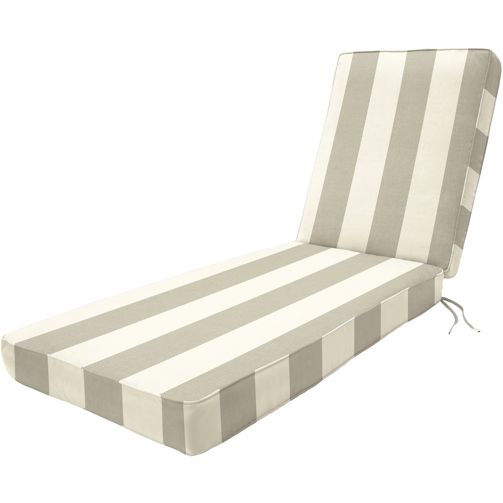Double Chaise Lounge Cushion Throughout Most Popular Oversized Chaise Lounge Cushions Outdoor Sun Lounge Cushions Sale (View 4 of 15)