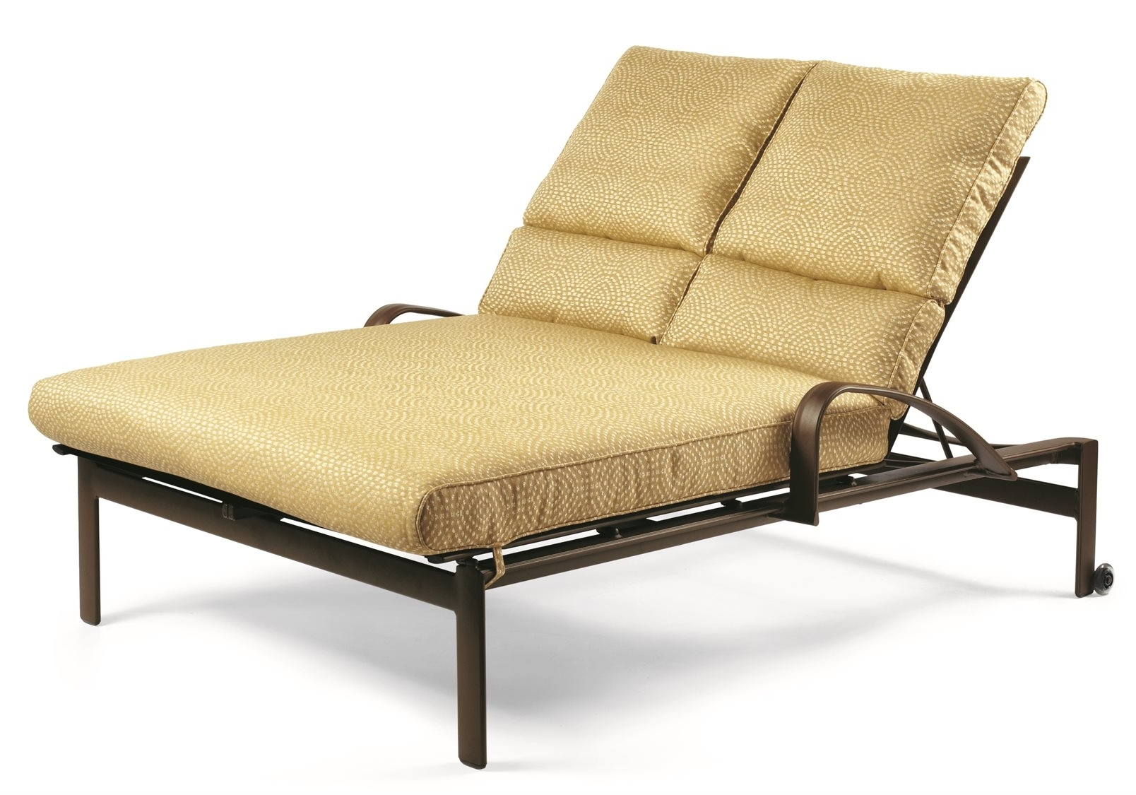 Double Chaise Lounge Cushion With Regard To Trendy Garden Bench Cushion Replacement Sun Lounger Cushions Outdoor (View 5 of 15)