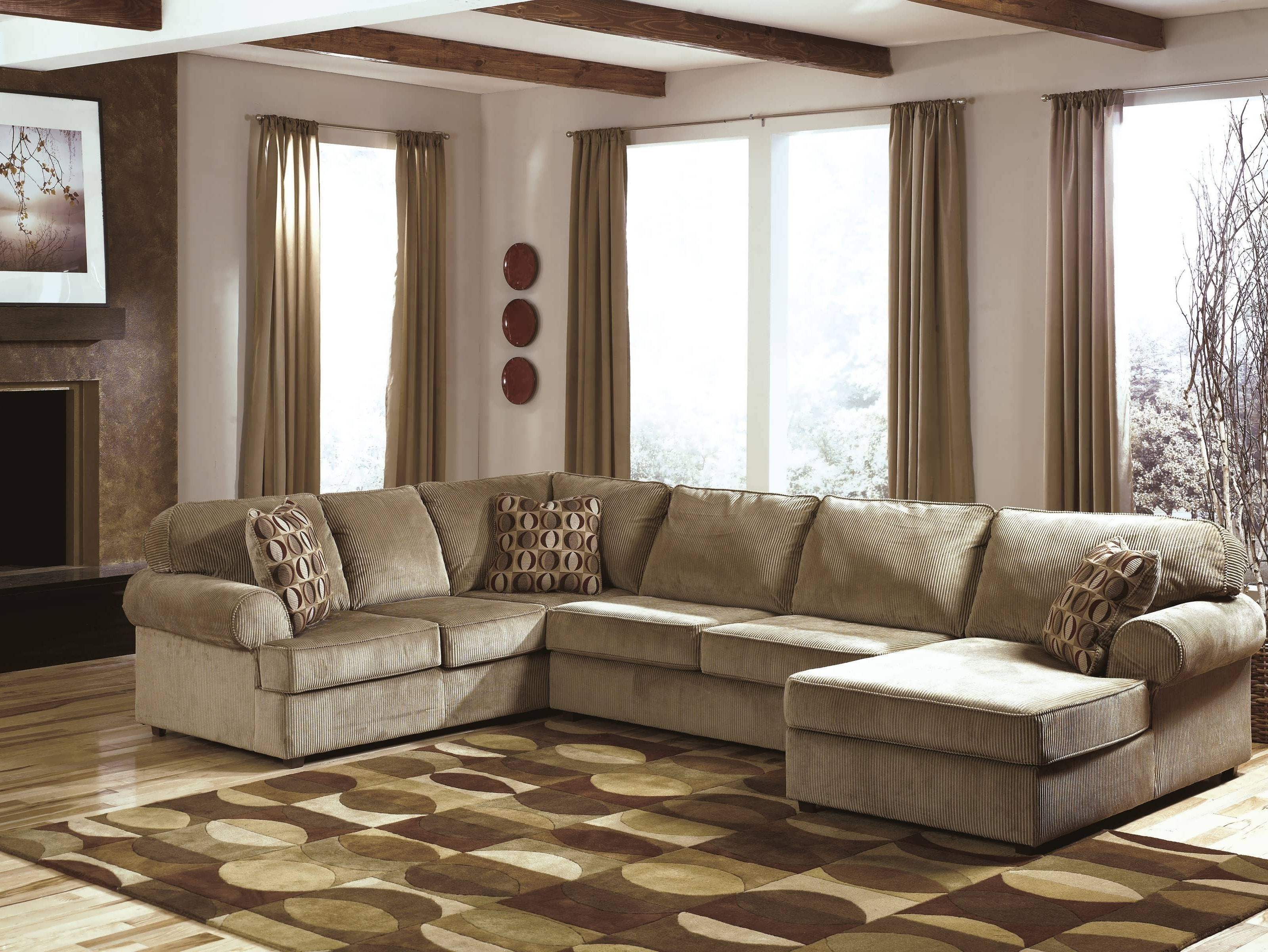 Double Chaise Sectionals Intended For 2018 Sofa : Modular Sectional Sofa Reclining Sectional Couch Sectionals (View 11 of 15)