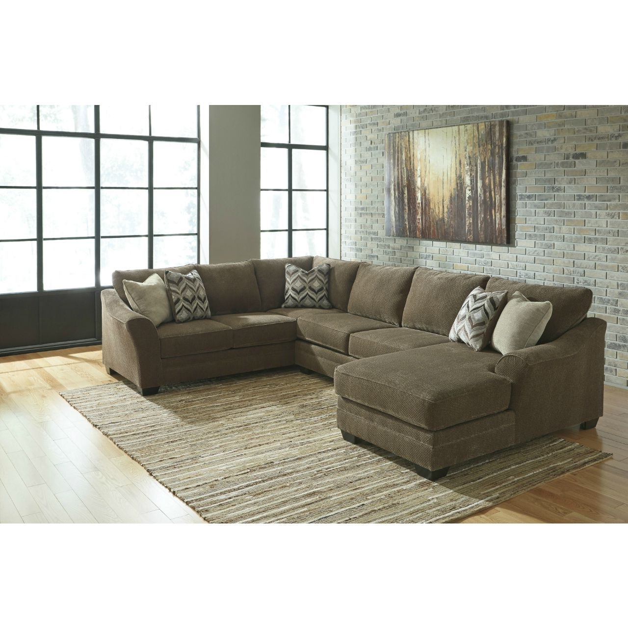 Douglas 3 Piece Sectional (View 6 of 15)