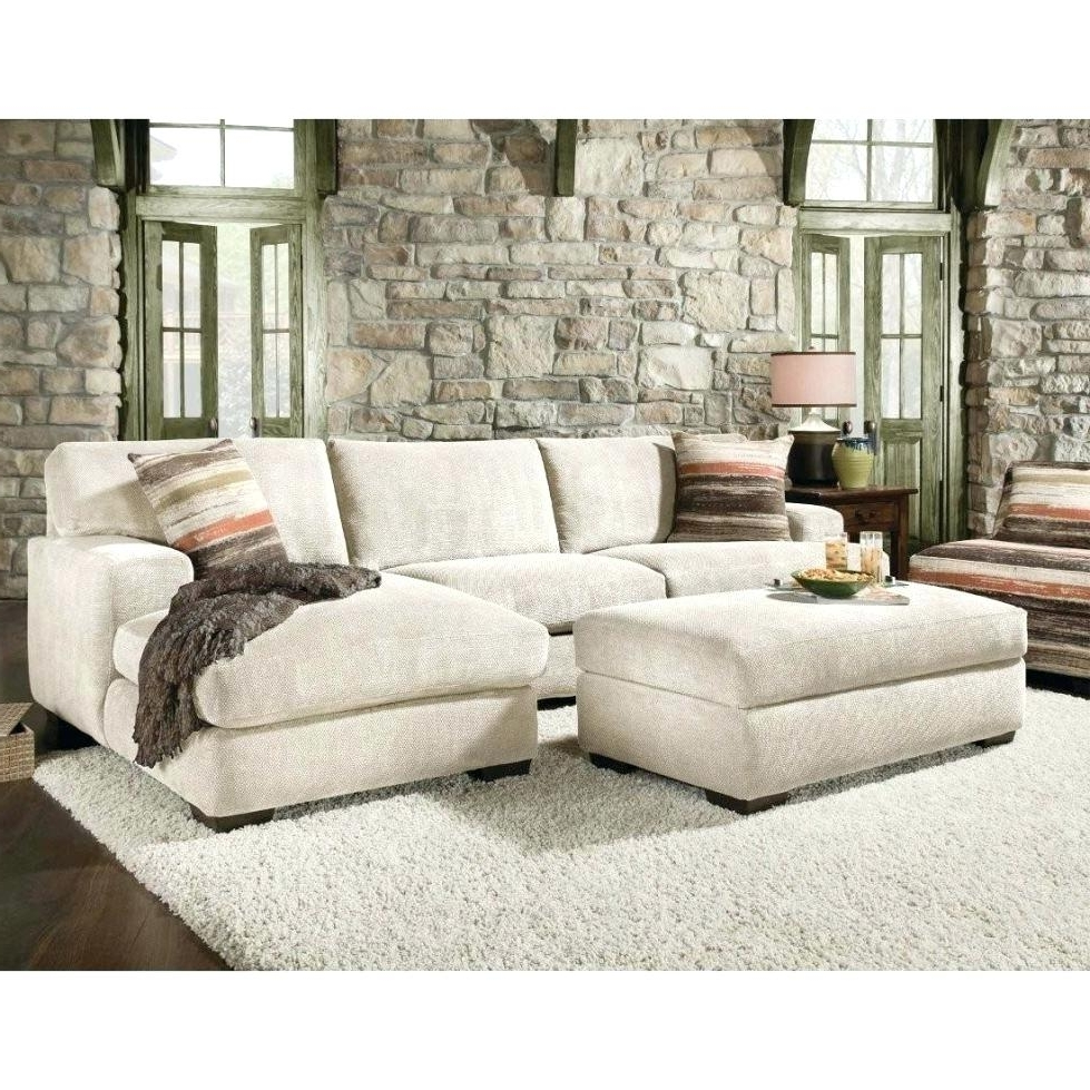 Down Feather Sectional Sofas Pertaining To Newest Down Filled Sofa Sa With Chaise Fibre Or Foam Fabric (View 4 of 15)