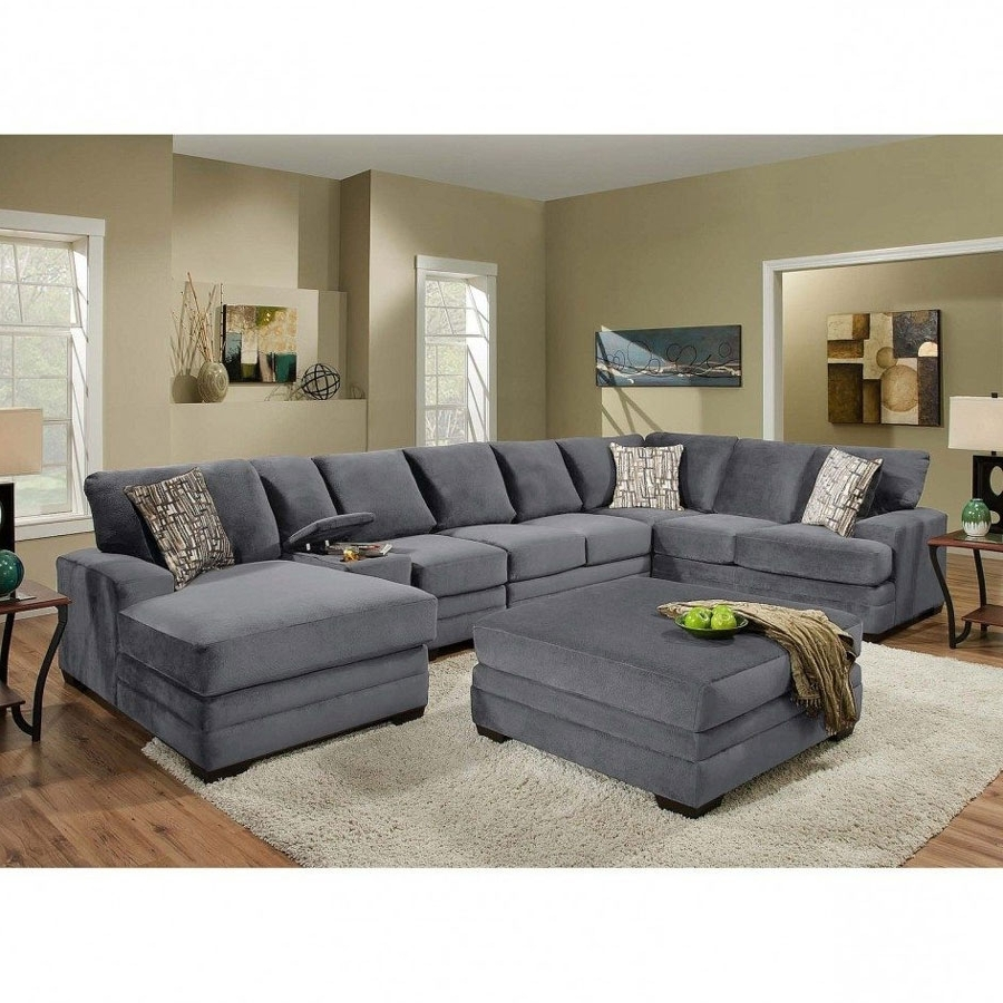 Down Feather Sectional Sofas Regarding Trendy Sectional Sofa: Magnificent Down Filled Sectional Sofa Down Filled (View 5 of 15)