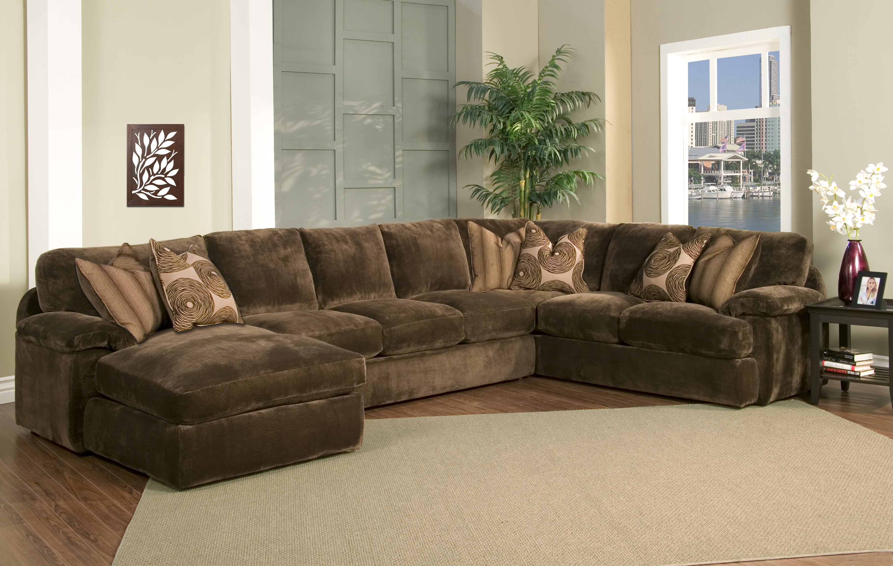 Down Filled Sectional Sofas Inside Well Known Furniture: Sofas With Down Cushions (View 6 of 15)