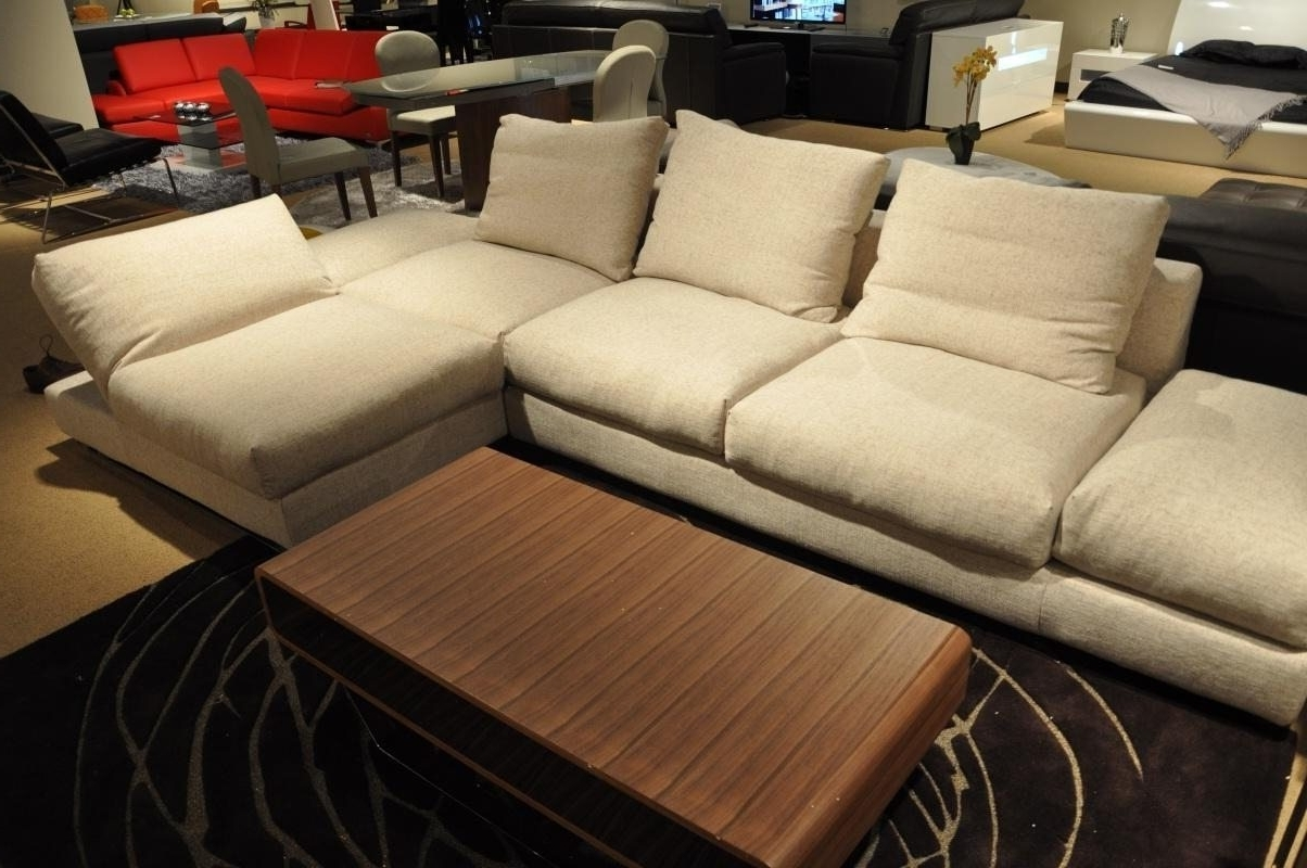 Down Filled Sectional Sofas Within Trendy Sectional Sofa Design: Down Sectional Sofa Blend Wrapped Goose (View 9 of 15)