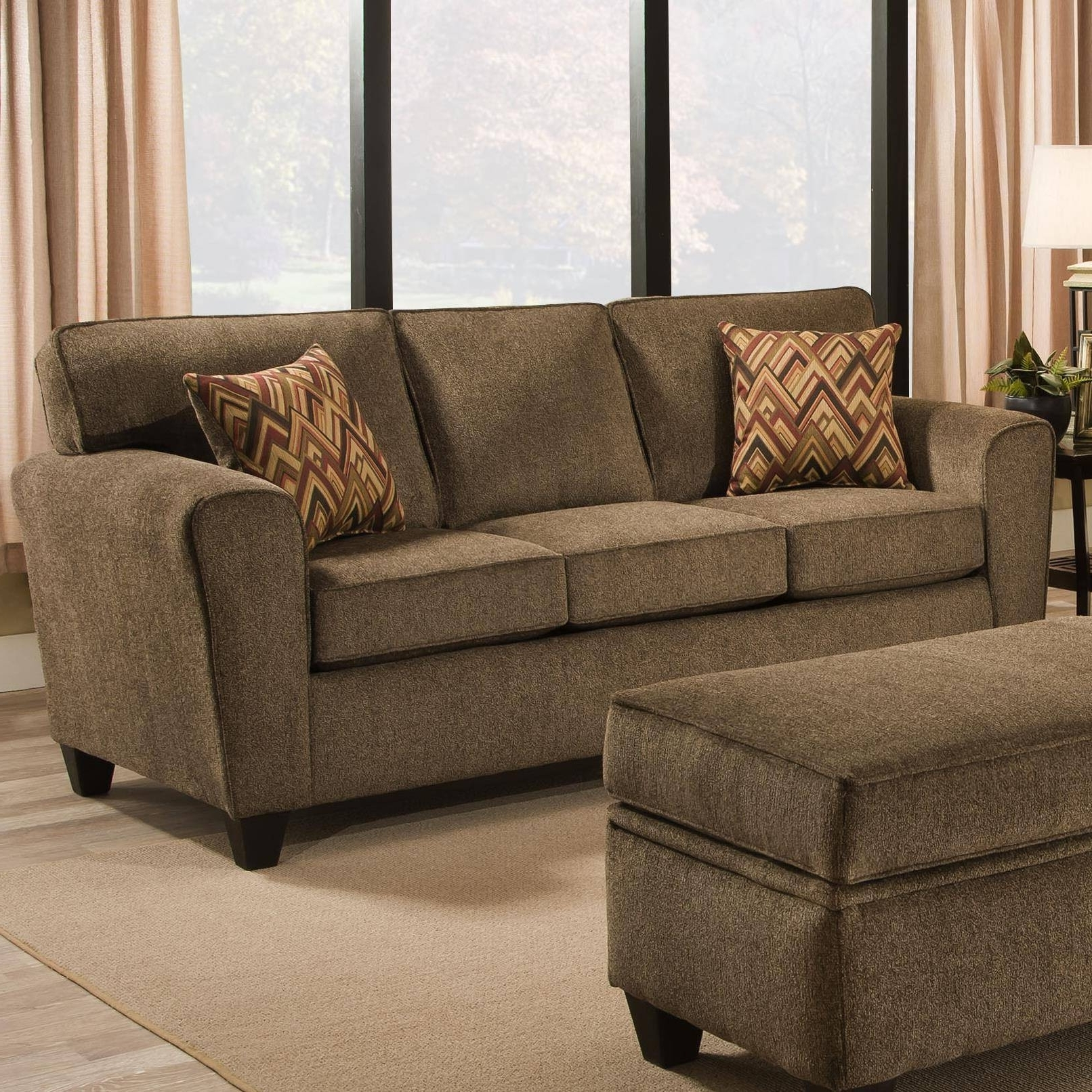 Down Filled Sofas With Regard To Most Current Furniture : Ethan Allen Down Filled Sofa Beautiful Sectional Sofas (View 4 of 15)