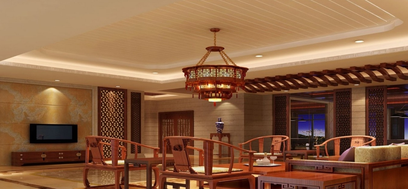 Download 3D House Intended For Chinese Chandeliers (View 6 of 15)