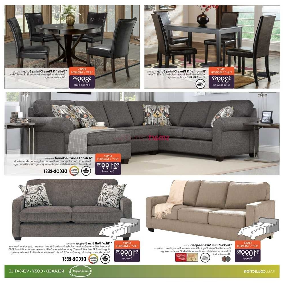 Dufresne Sectional Sofas For Most Current Dufresne Flyer September 8 To  (View 3 of 15)