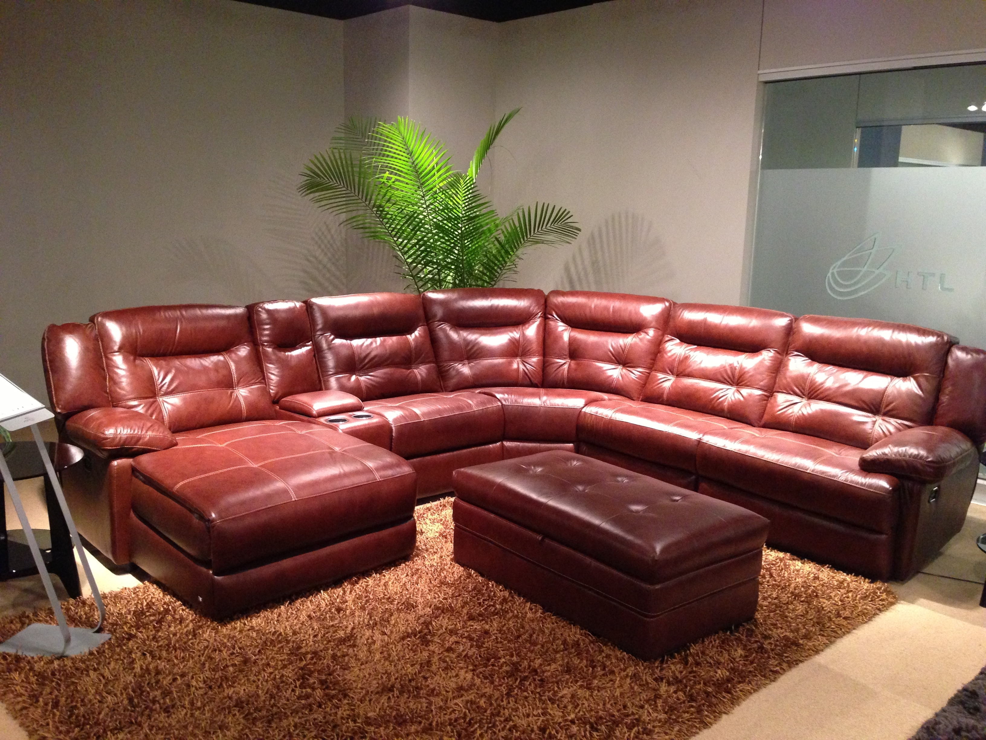 Durango Leather Sectional (View 7 of 15)