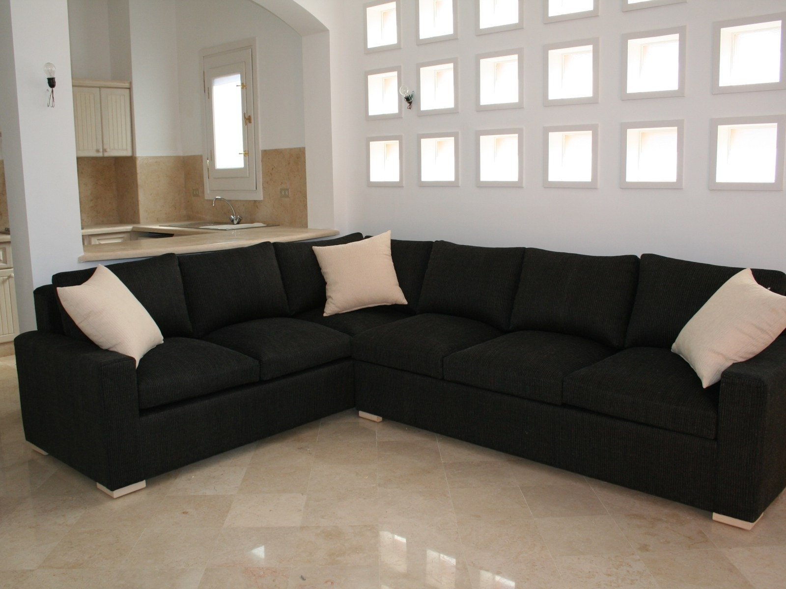 ▻ Sofa : 9 Grand Small Leather Sectional Sofa With Chaise Ebbe16 Intended For Recent Grand Furniture Sectional Sofas (View 6 of 15)