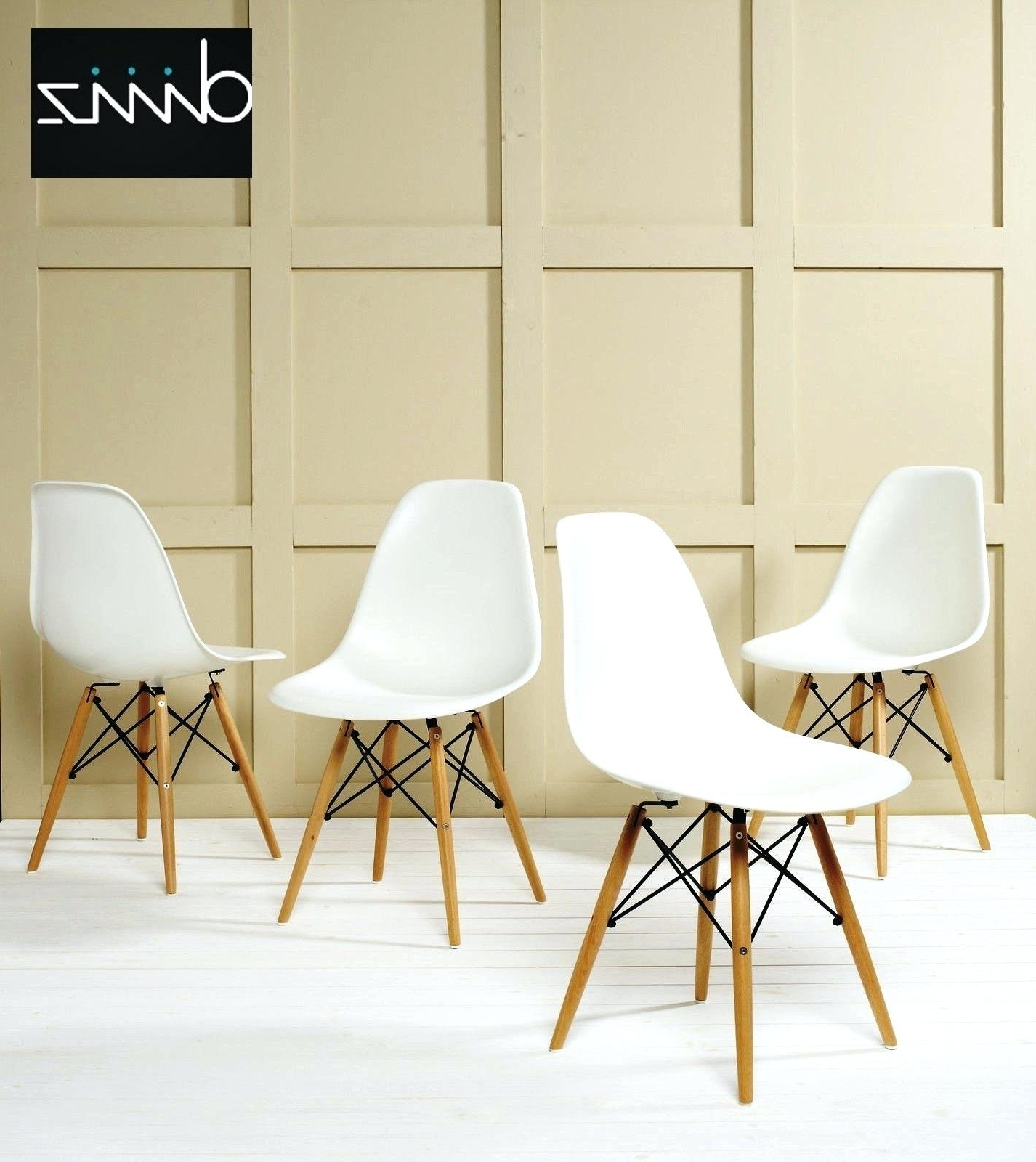 Eames La Chaises With Widely Used Chaises Dsw For The Dining Height Side Chair Wood Base Charles And (View 6 of 15)