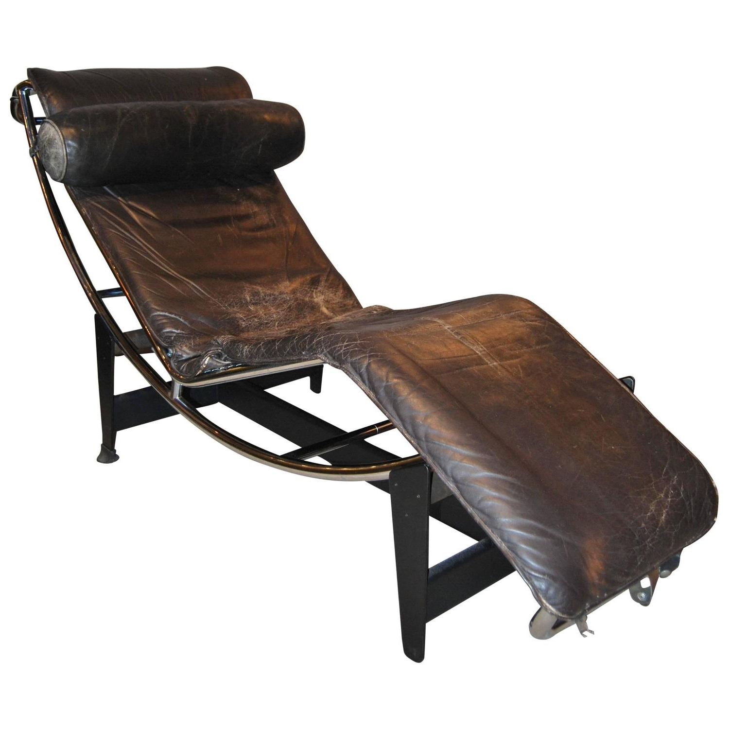 Early Le Corbusier/jeanneret/perriand Lc4 Chaise Lounge For Sale Regarding Fashionable Le Corbusier Chaises (View 6 of 15)