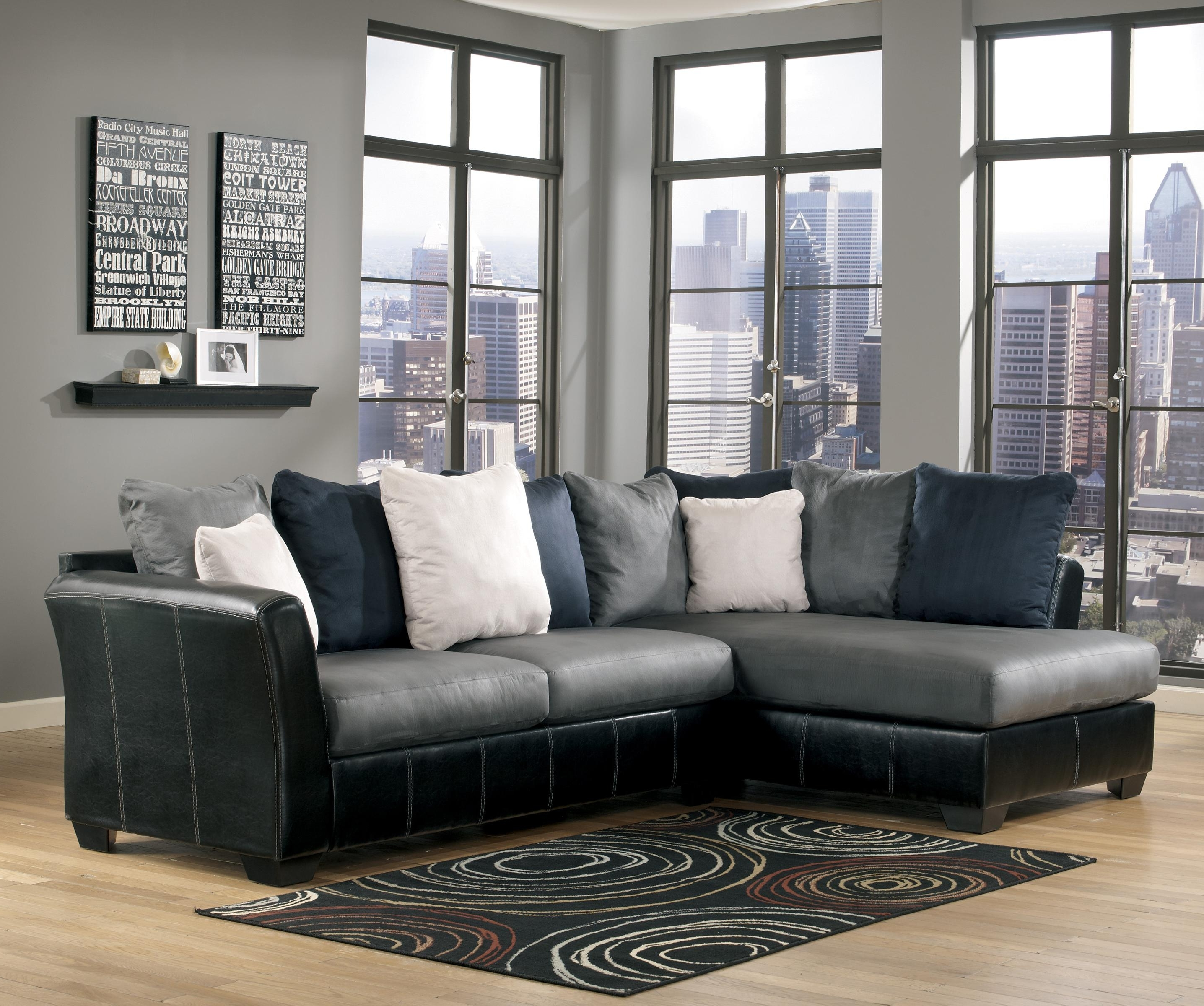 Eau Claire Wi Sectional Sofas Intended For Famous Masoli – Cobblestone 2 Piece Sectional With Chaisebenchcraft (View 5 of 15)