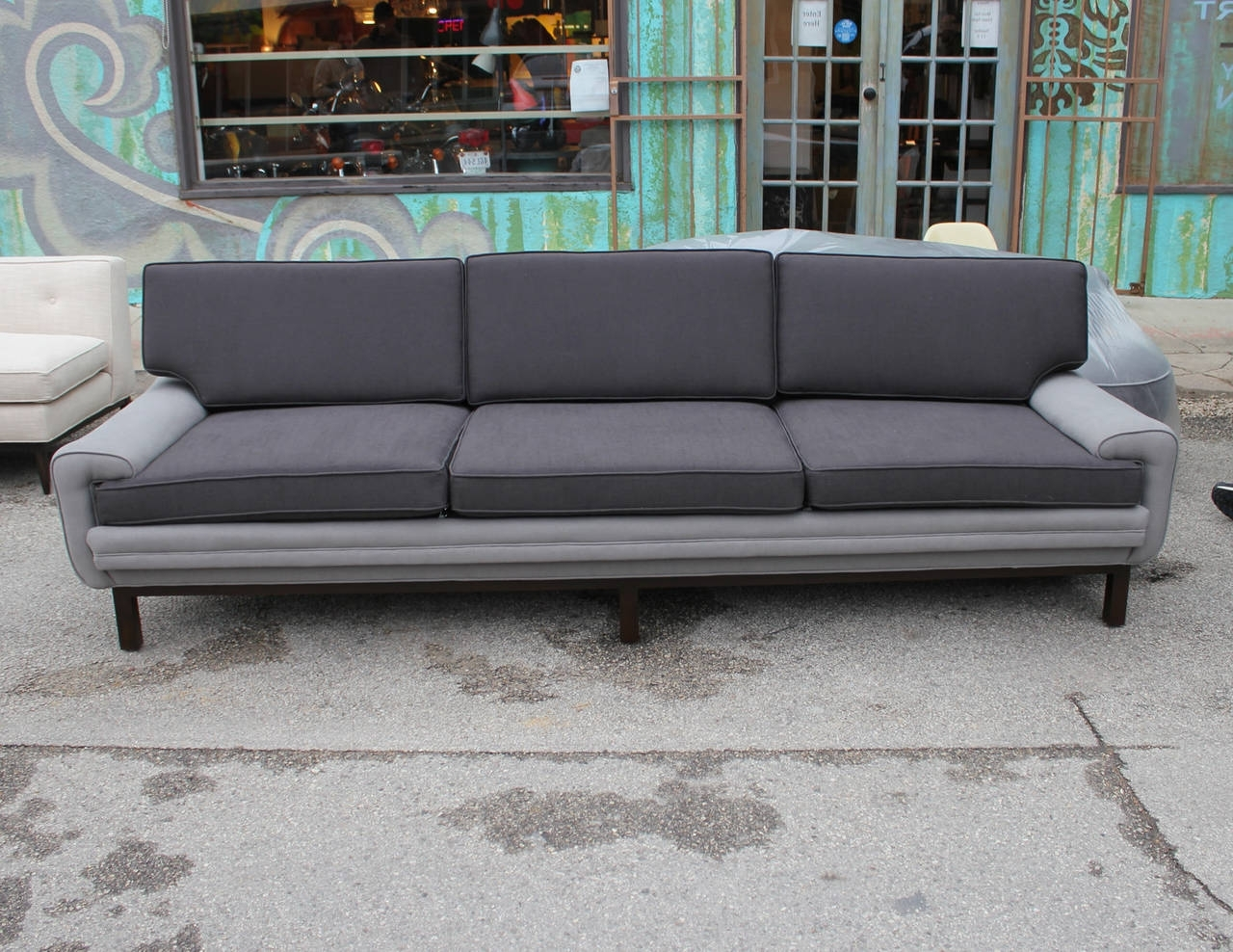 Elegant Two Tone Grey Sofa 81 With Additional Living Room Sofa With Latest Two Tone Sofas (View 5 of 15)