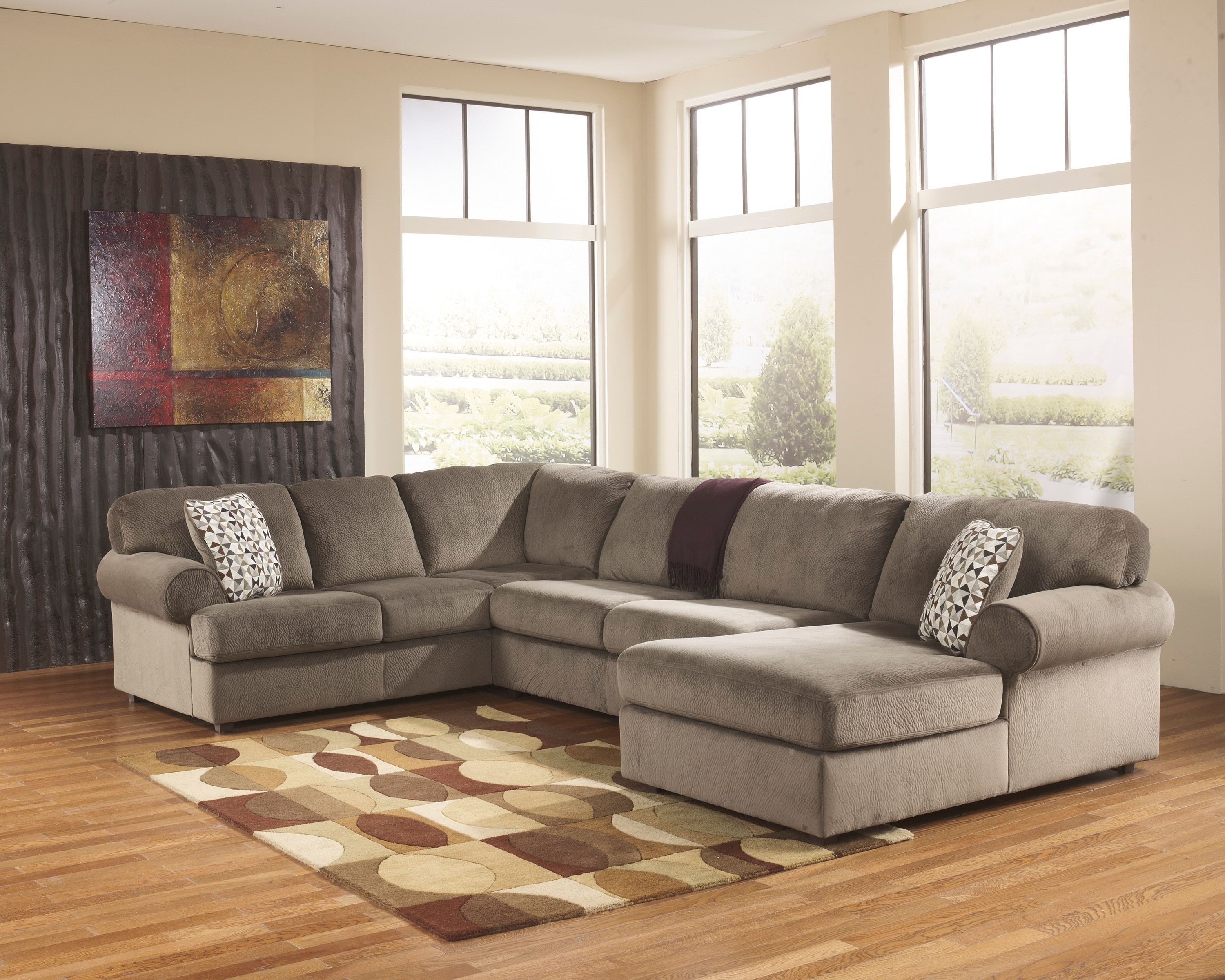 Elk Grove Ca Sectional Sofas Pertaining To Preferred Jessa Place Dune 3 Piece Sectional Sofa For $ (View 6 of 15)