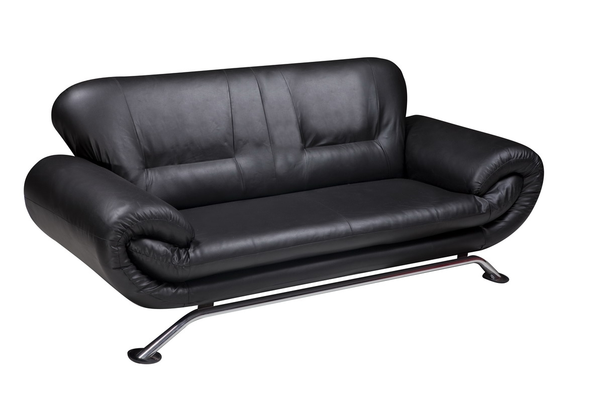Emejing Black Leather Sofa 2 Seater Ideas – Liltigertoo Regarding Most Recently Released Black 2 Seater Sofas (View 9 of 15)
