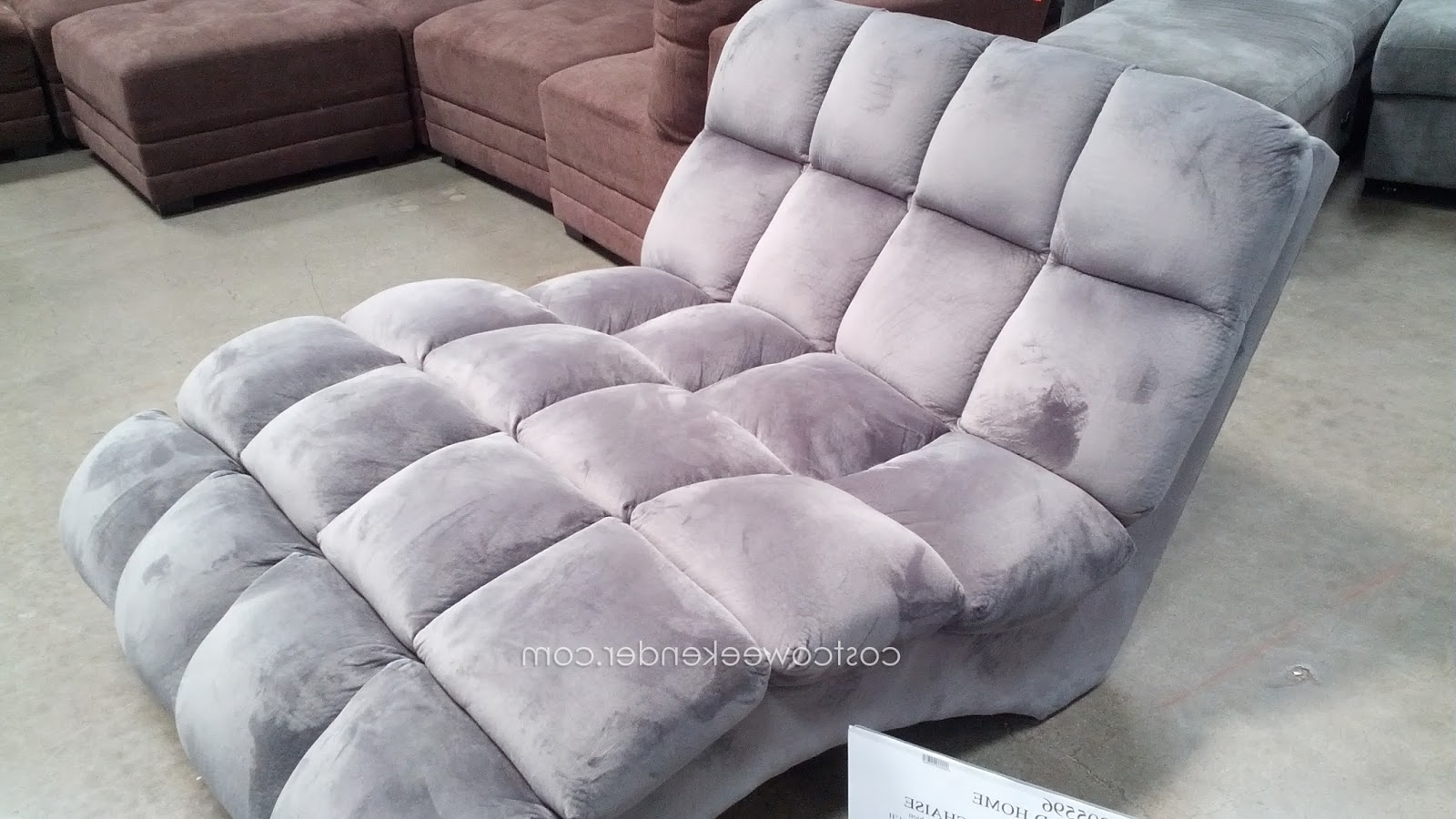 Emerald Home Boylston Double Chaise Lounge At Costco (View 8 of 15)