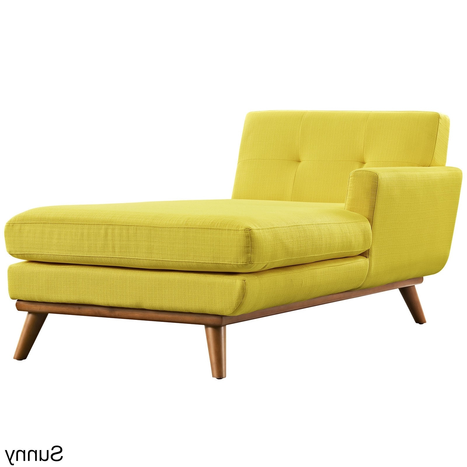 Engage Left Arm Mid Century Chaise Lounge – Free Shipping Today Intended For Most Current Mid Century Chaises (View 4 of 15)