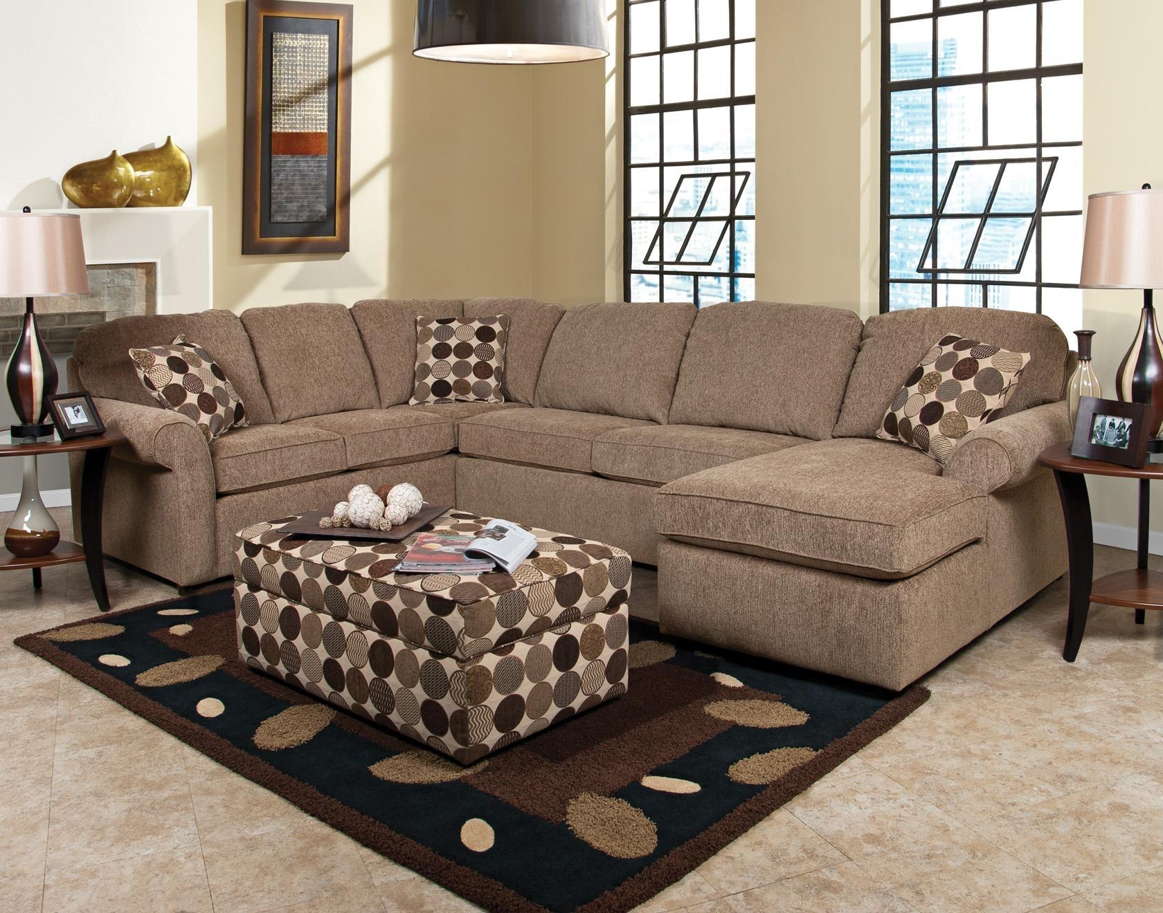 England Malibu 4 5 Seat Corner Sectional Sofa (Gallery 5 of 15)