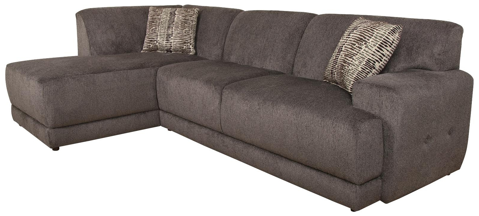 England Sectional Sofas Inside Latest England Cole Contemporary Sectional Sofa With Right Facing Chaise (View 11 of 15)