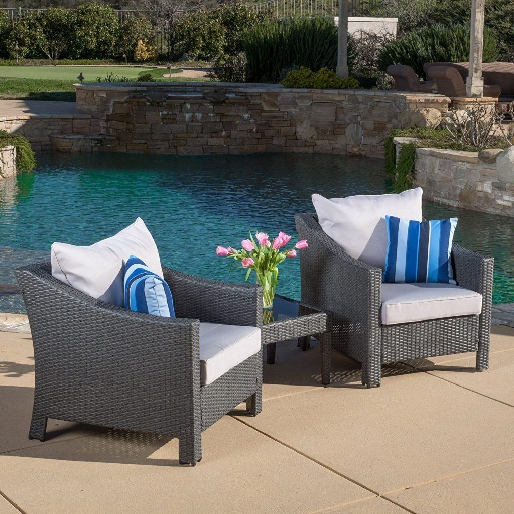 Enjoy Your Summer With Outdoor Wicker Furniture (50 Idea Photos) Intended For Current Outdoor Sofas And Chairs (View 7 of 15)