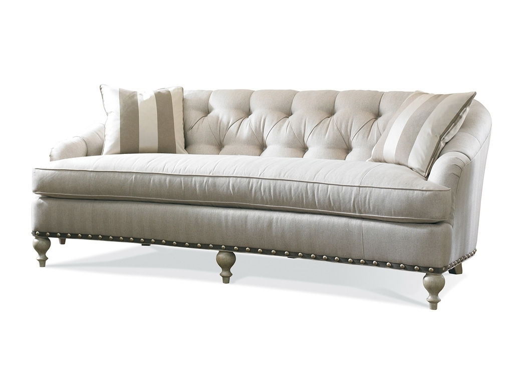 Exceptional Single Cushion Sofa #2 One Cushion Sherrill Furniture Within Well Known One Cushion Sofas (View 4 of 15)