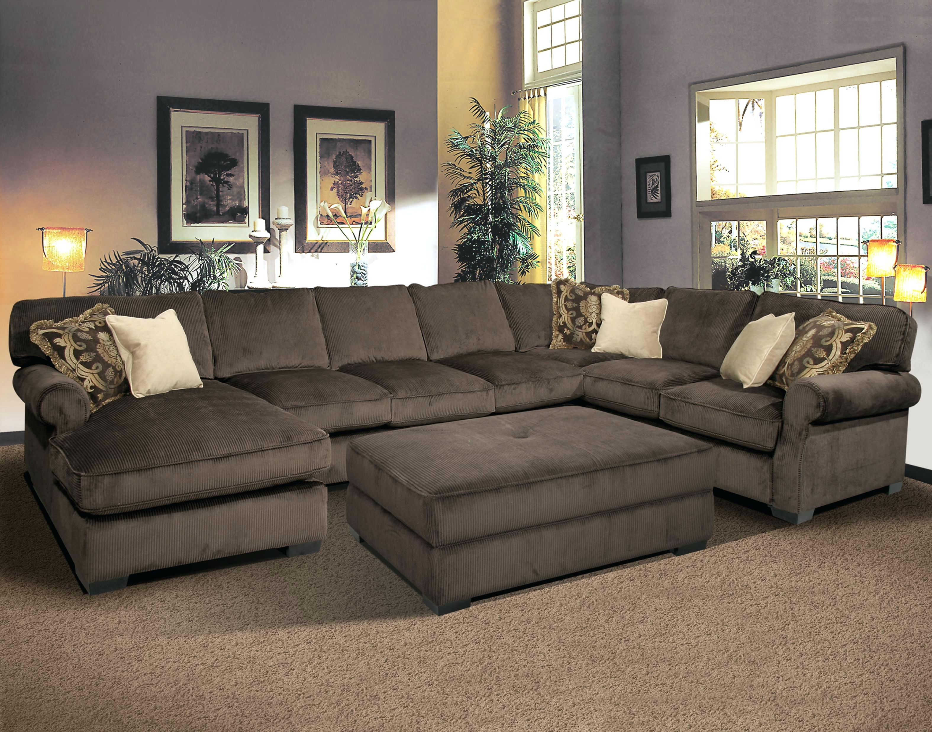 Extra Large Sectional Sofas Leather Couches With Recliners Modern Pertaining To Trendy Huge U Shaped Sectionals (View 7 of 15)