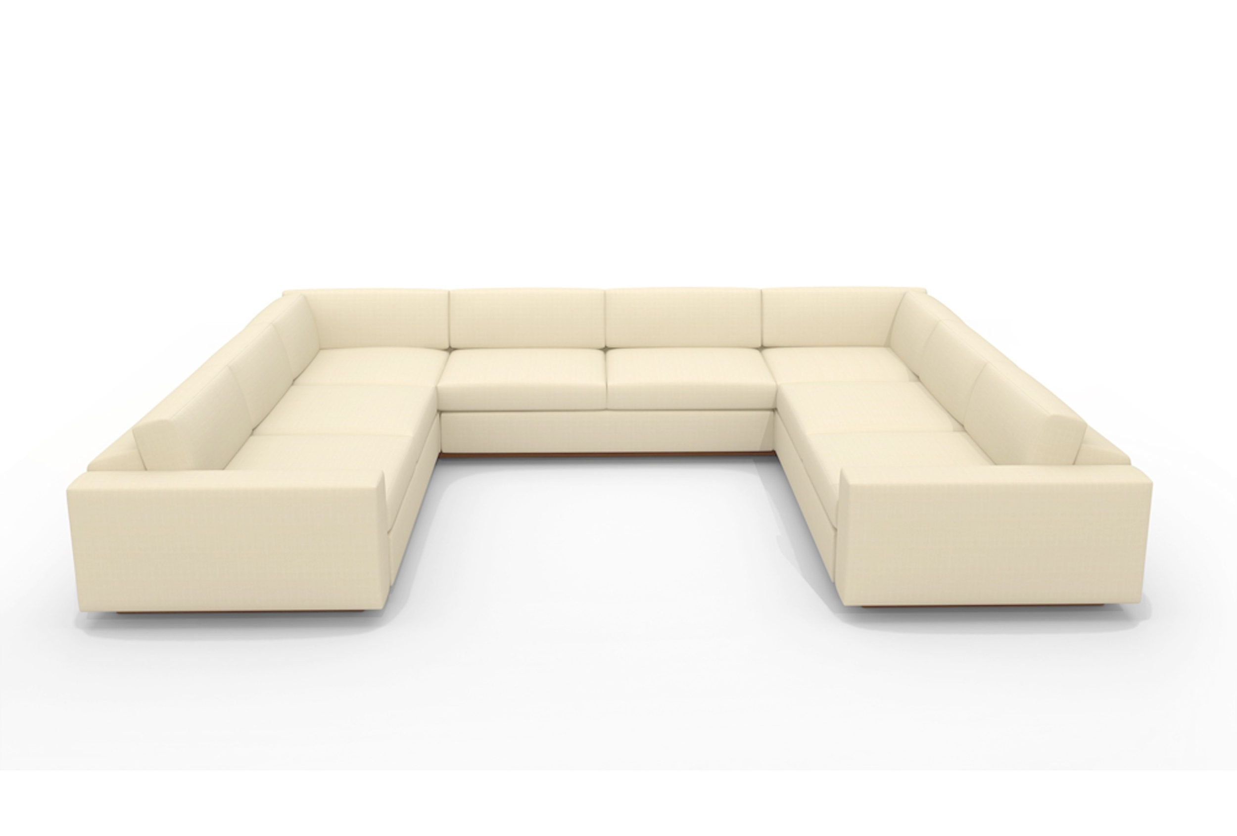 Ezhandui Within Modern U Shaped Sectional Sofas (View 4 of 15)