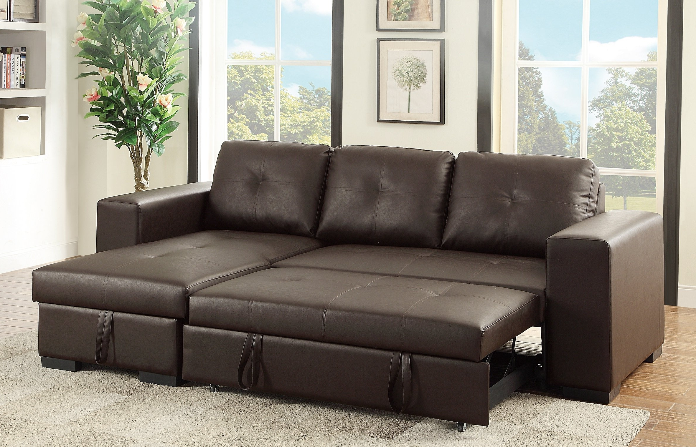 15 Ideas of Convertible Sectional Sofas